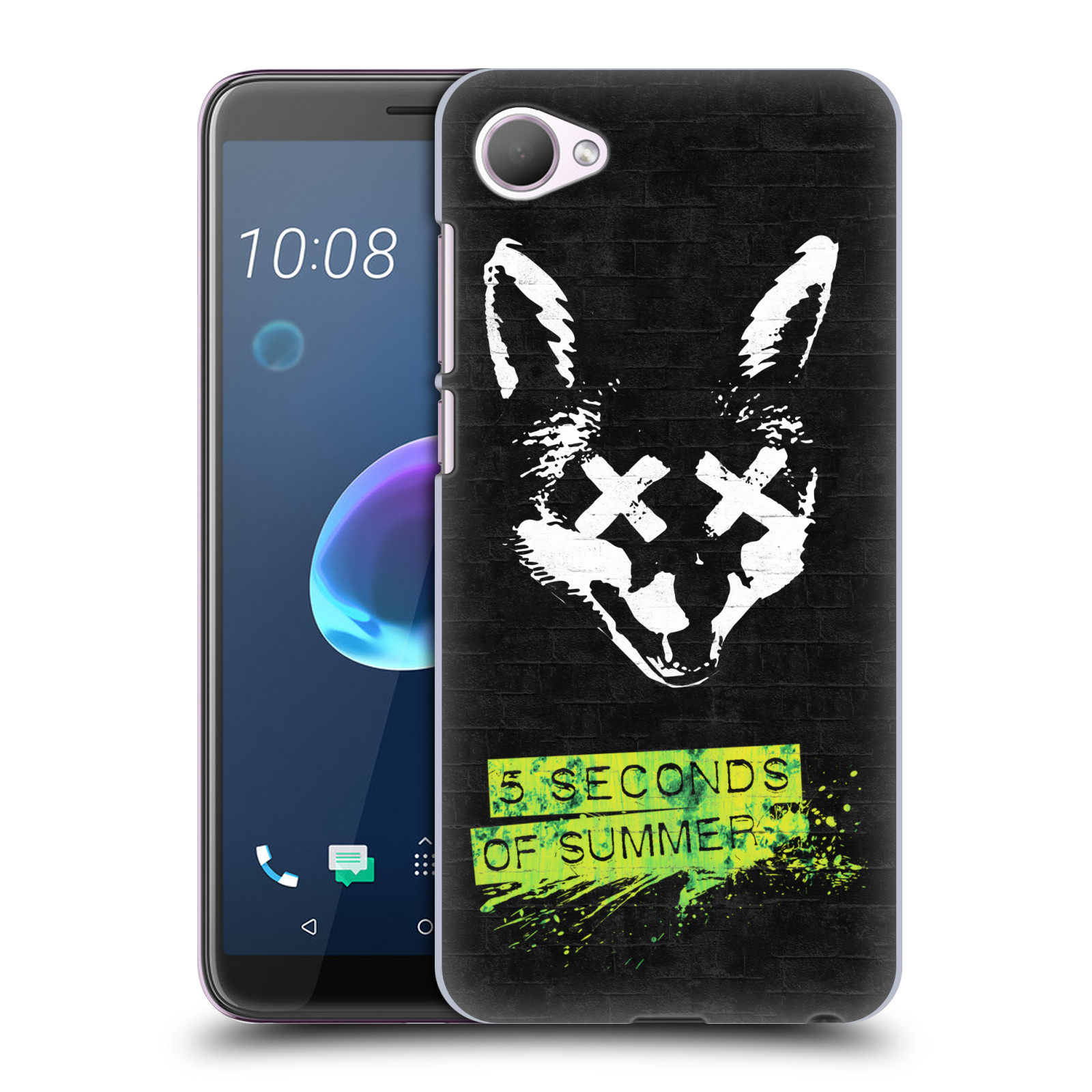 Plastové pouzdro na mobil HTC Desire 12 - Head Case - 5 Seconds of Summer - Fox