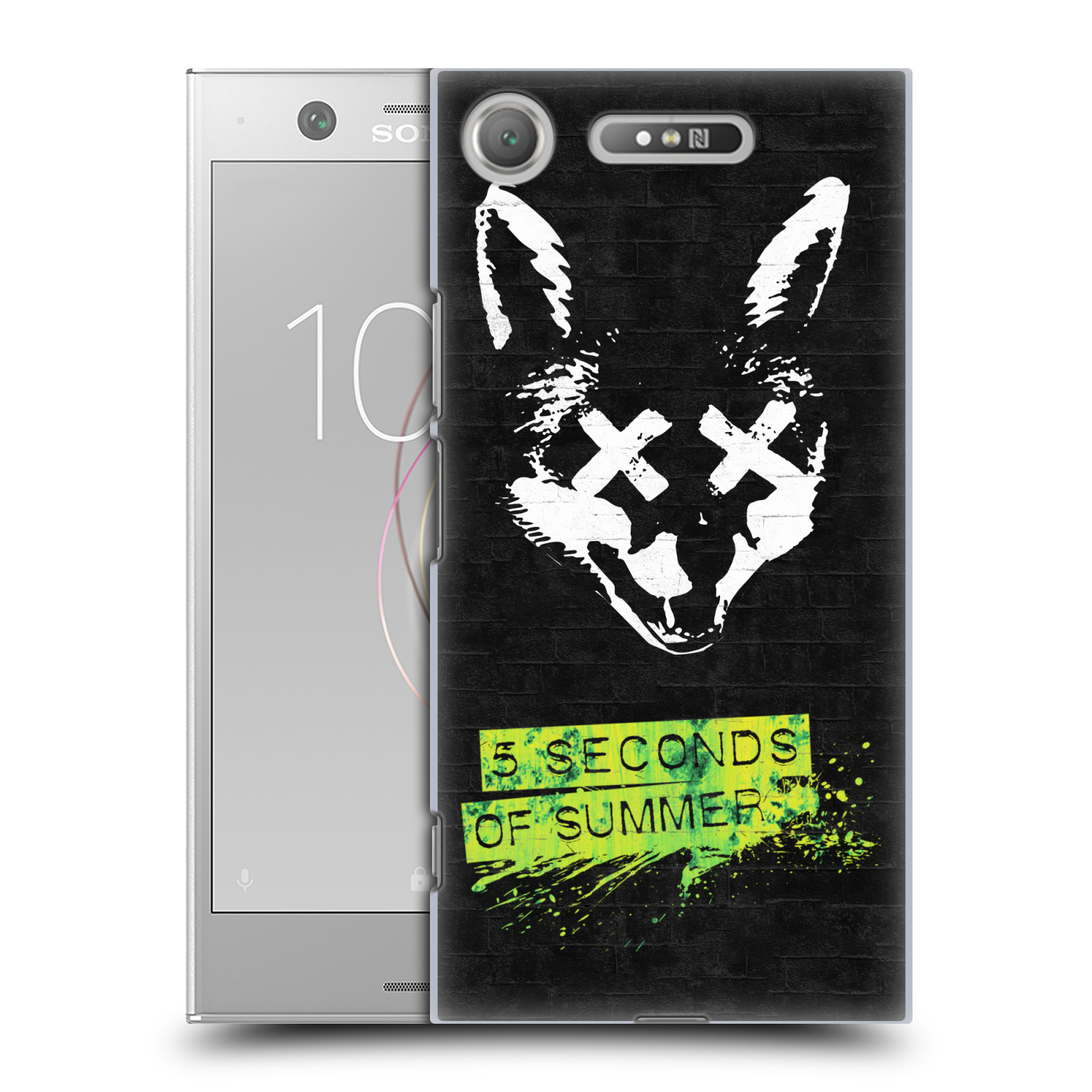 Plastové pouzdro na mobil Sony Xperia XZ1 - Head Case - 5 Seconds of Summer - Fox