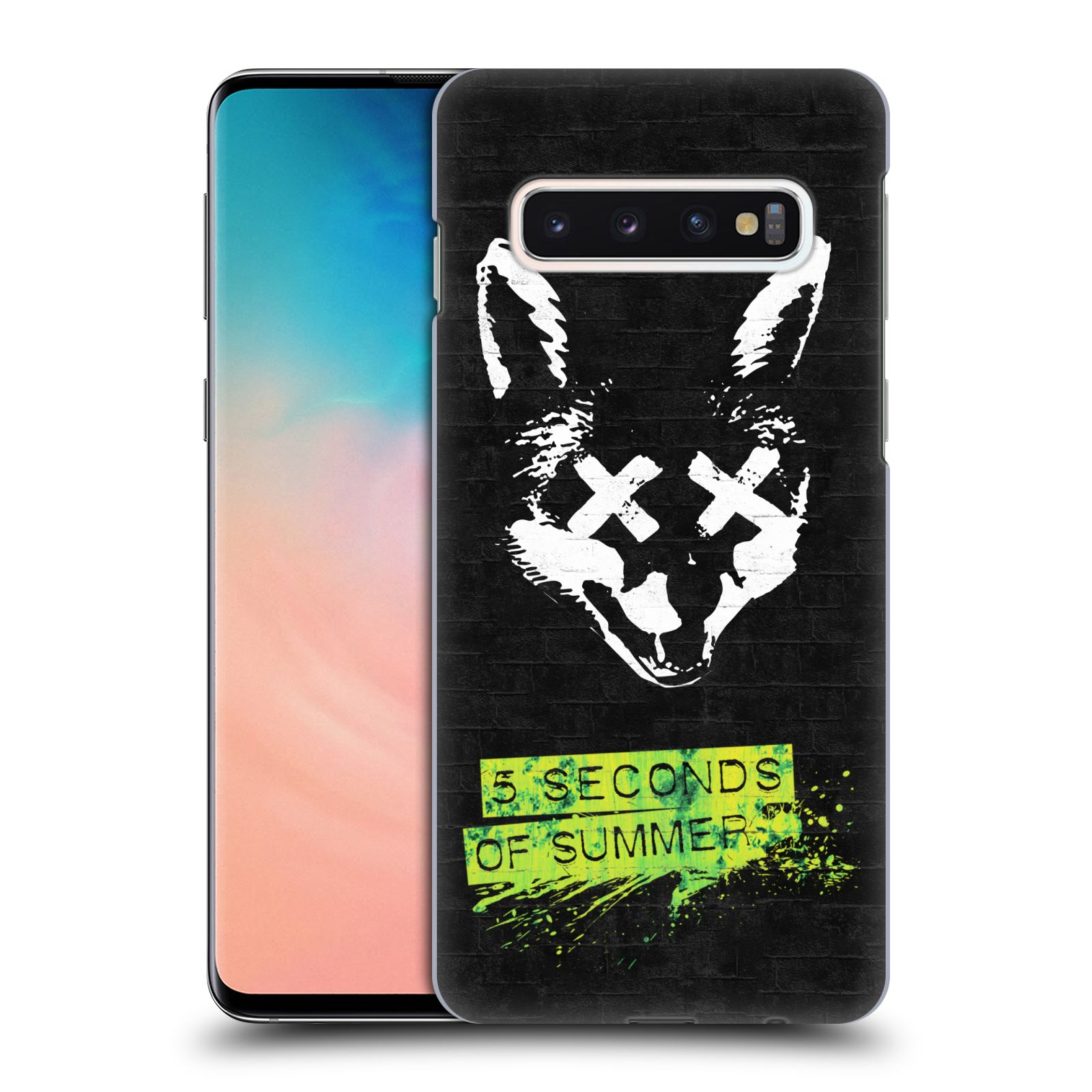 Plastové pouzdro na mobil Samsung Galaxy S10 - Head Case - 5 Seconds of Summer - Fox