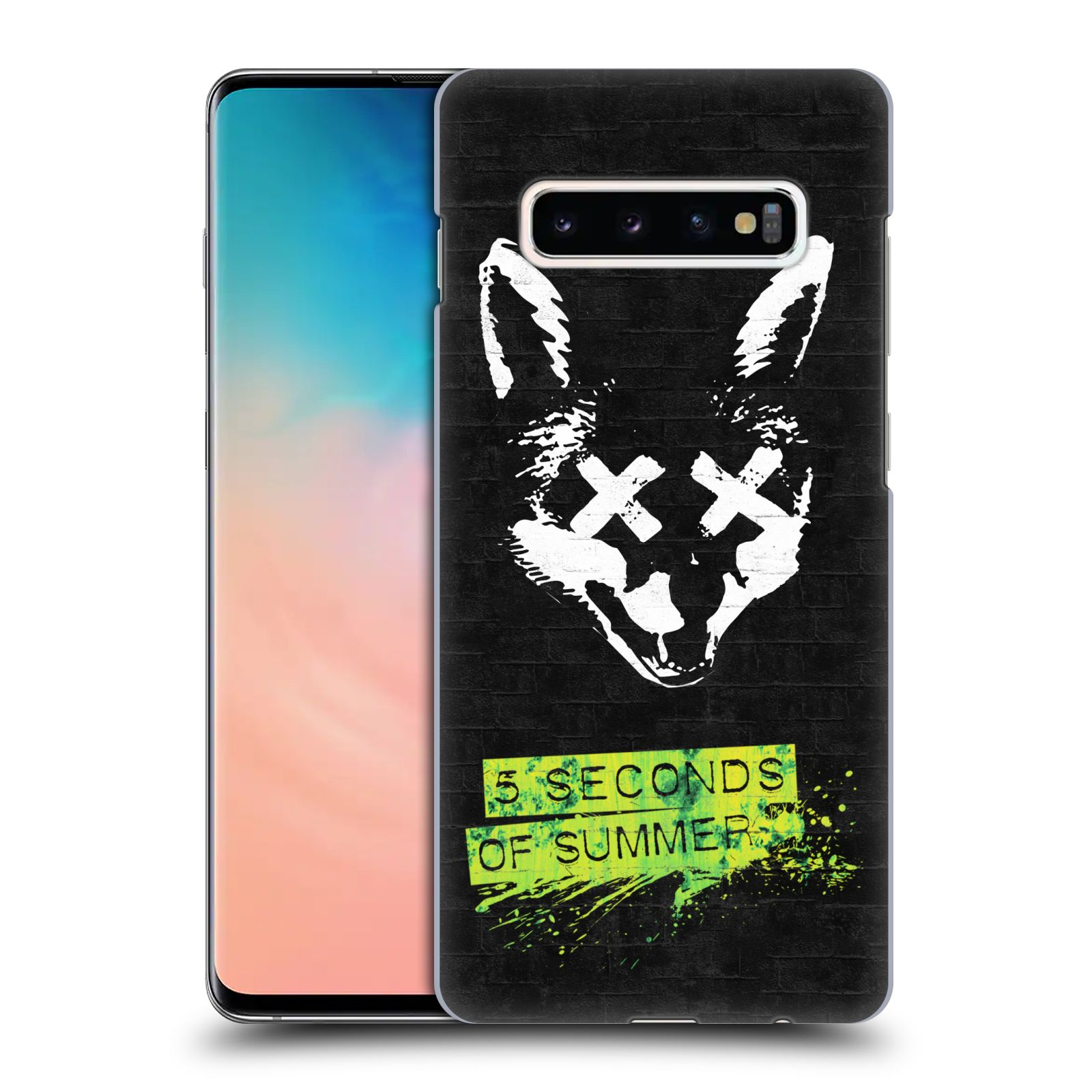 Plastové pouzdro na mobil Samsung Galaxy S10 Plus - Head Case - 5 Seconds of Summer - Fox