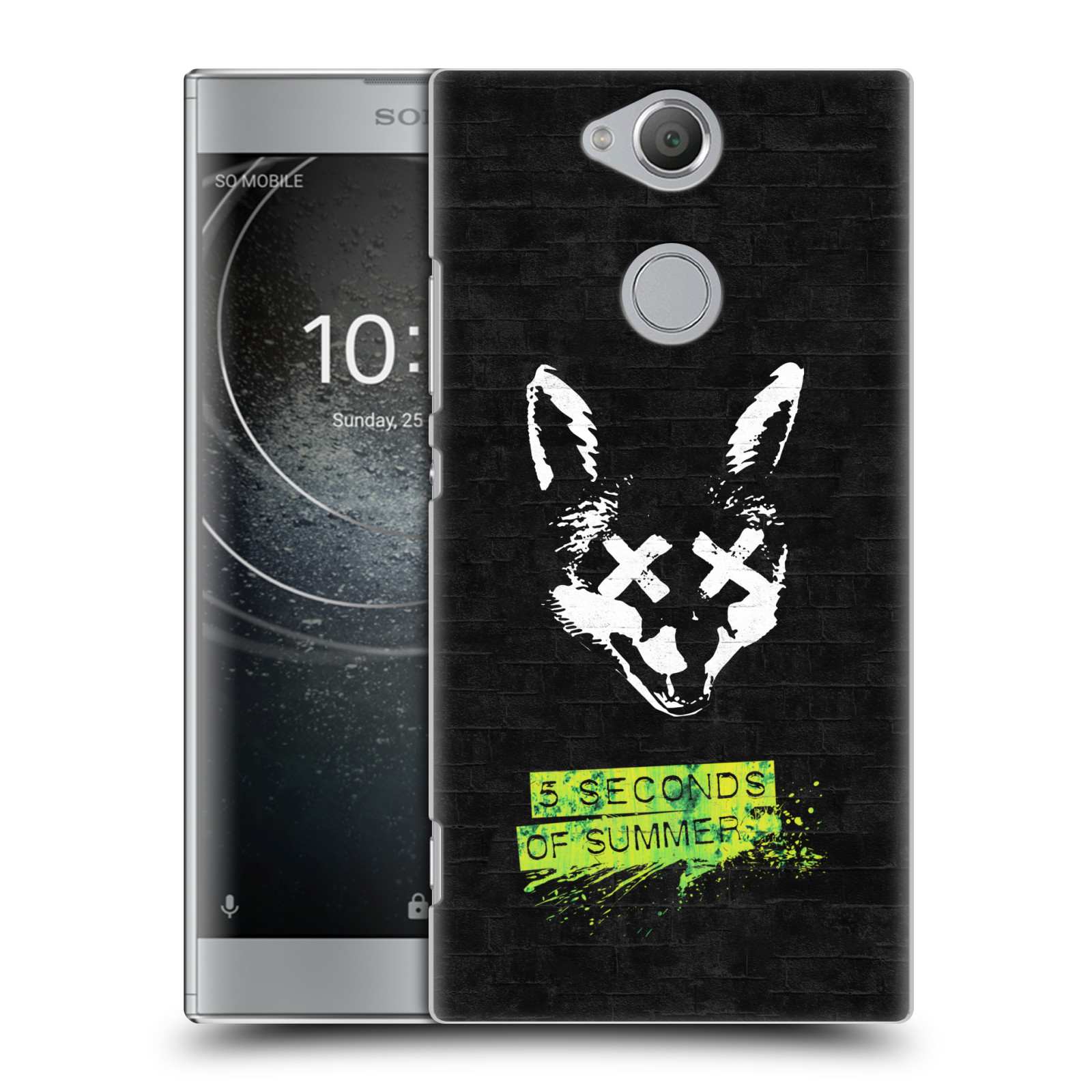 Plastové pouzdro na mobil Sony Xperia XA2 - Head Case - 5 Seconds of Summer - Fox