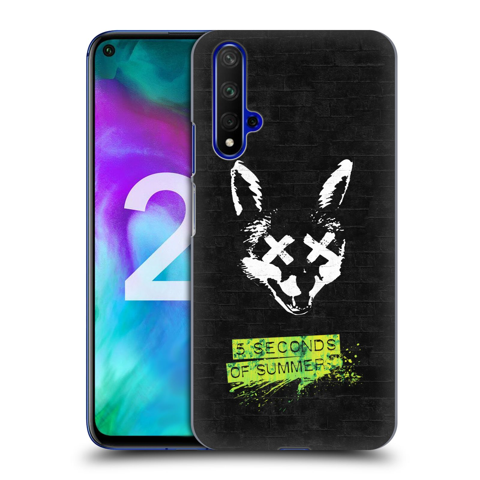 Plastové pouzdro na mobil Honor 20 - Head Case - 5 Seconds of Summer - Fox