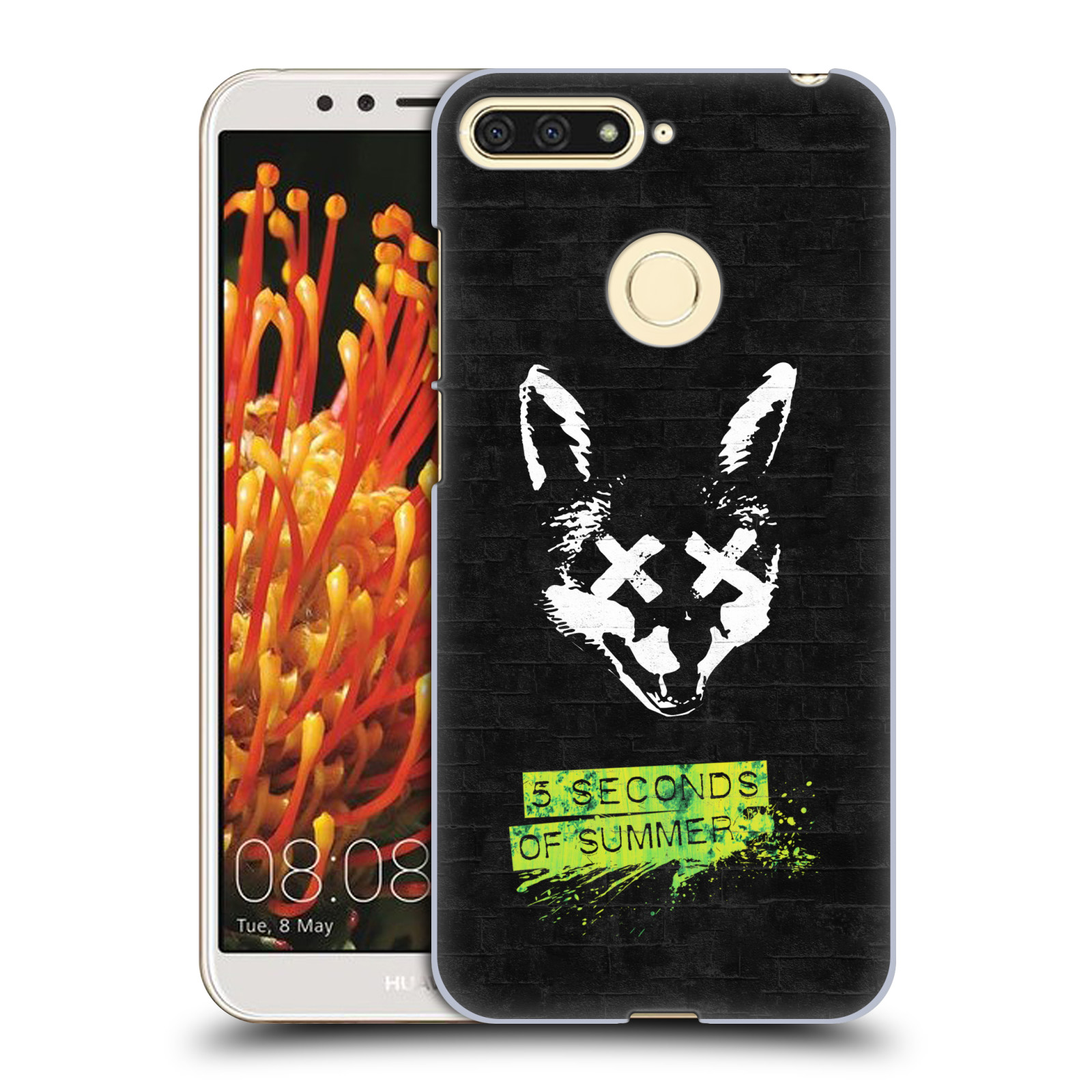 Plastové pouzdro na mobil Honor 7A - Head Case - 5 Seconds of Summer - Fox