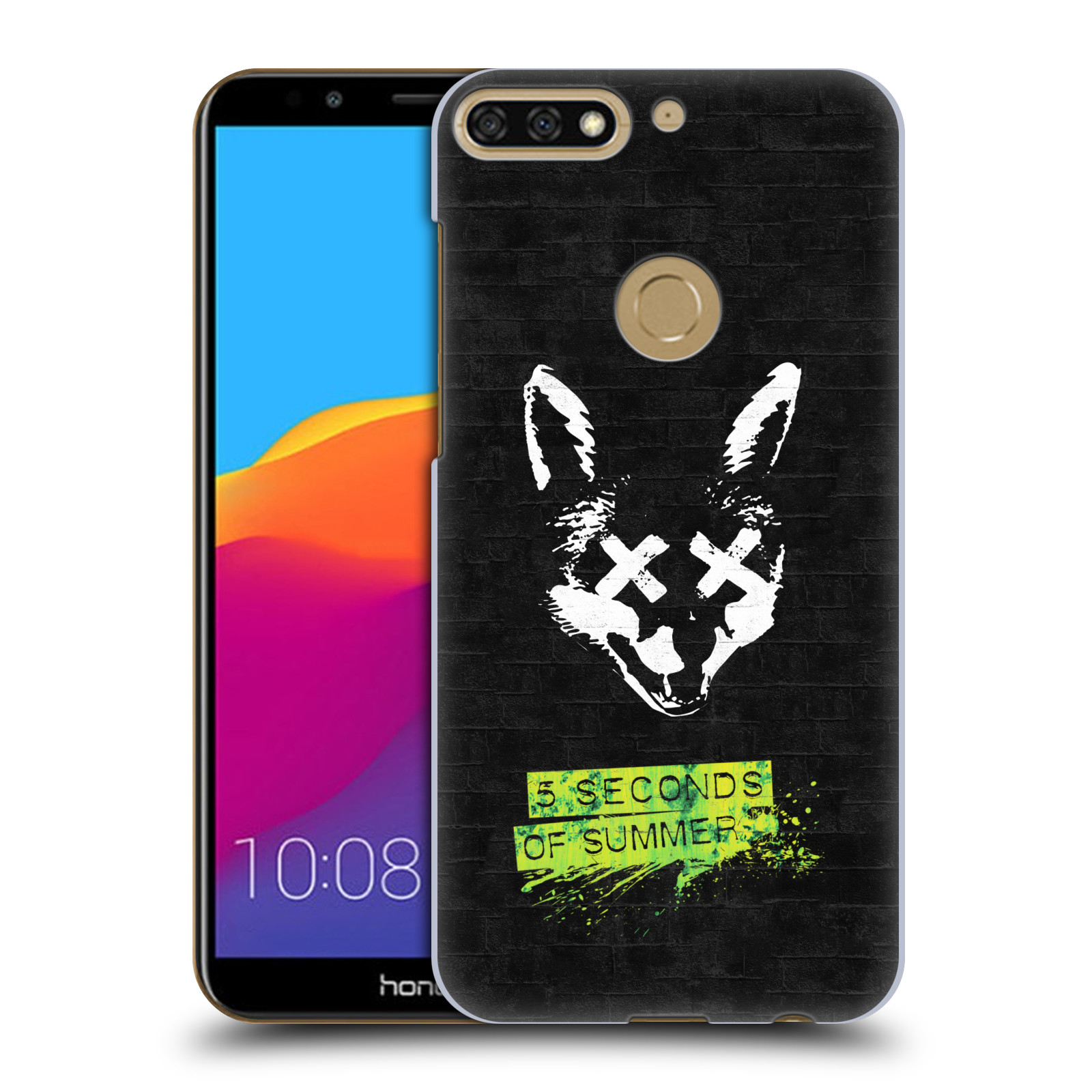 Plastové pouzdro na mobil Honor 7C - Head Case - 5 Seconds of Summer - Fox