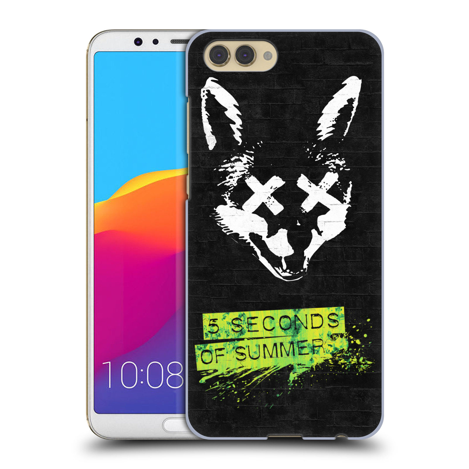Plastové pouzdro na mobil Honor View 10 - Head Case - 5 Seconds of Summer - Fox
