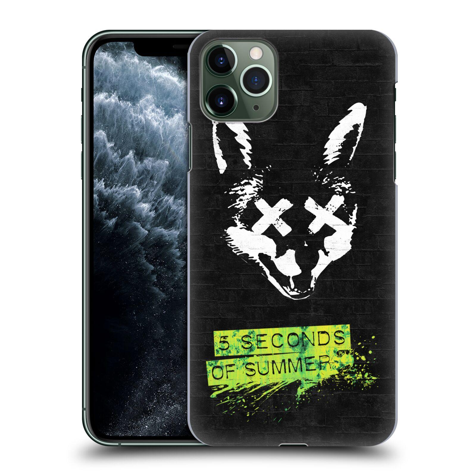 Plastové pouzdro na mobil Apple iPhone 11 Pro Max - Head Case - 5 Seconds of Summer - Fox