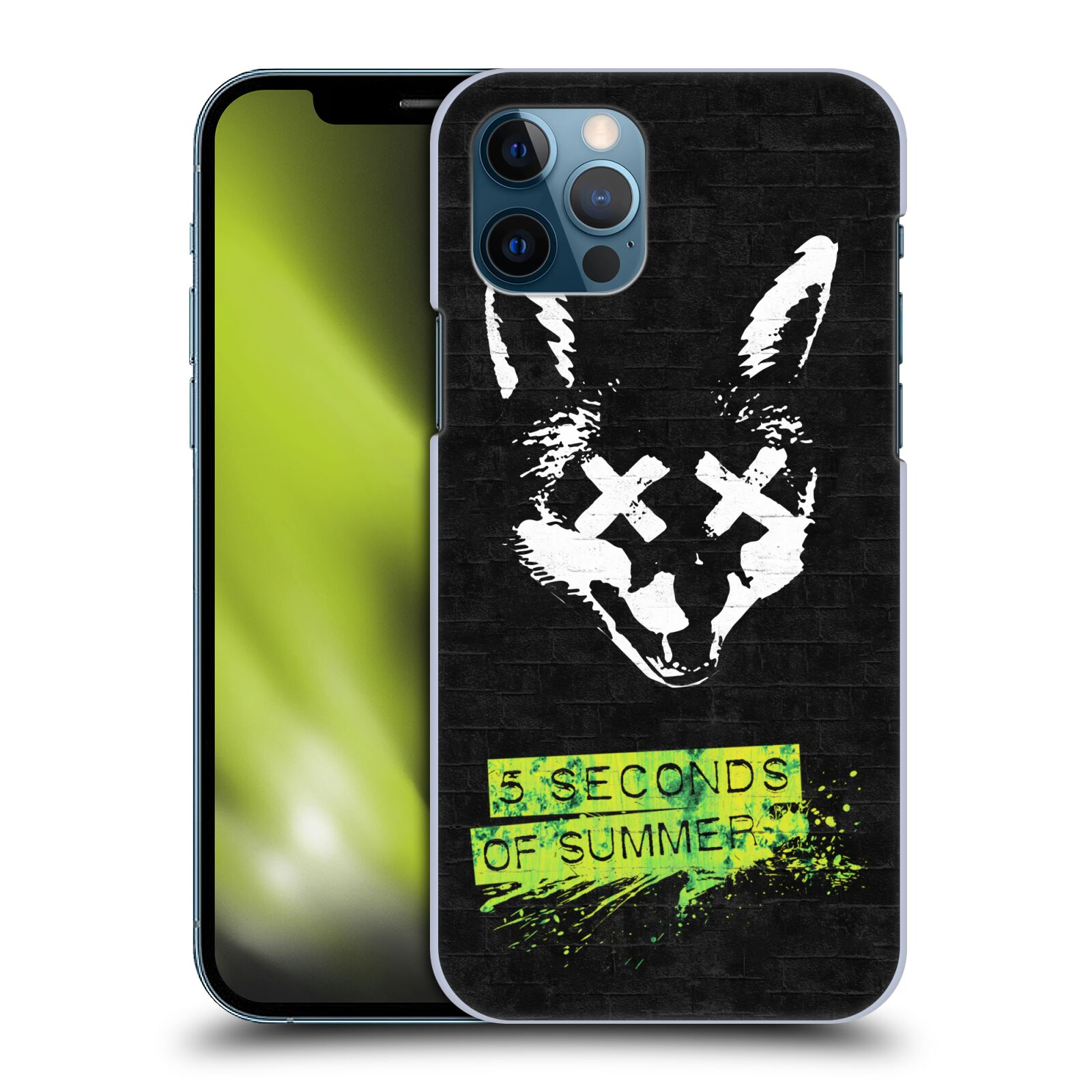 Plastové pouzdro na mobil Apple iPhone 12 / 12 Pro - Head Case - 5 Seconds of Summer - Fox