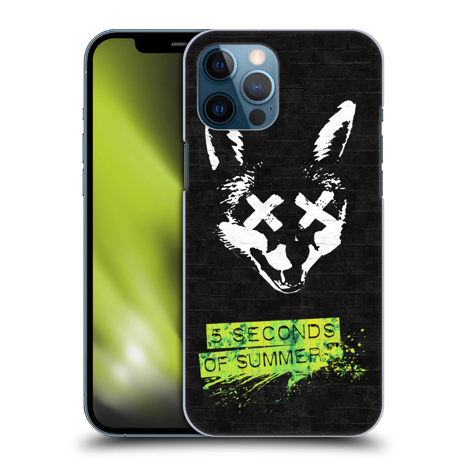 Plastové pouzdro na mobil Apple iPhone 12 Pro Max - Head Case - 5 Seconds of Summer - Fox