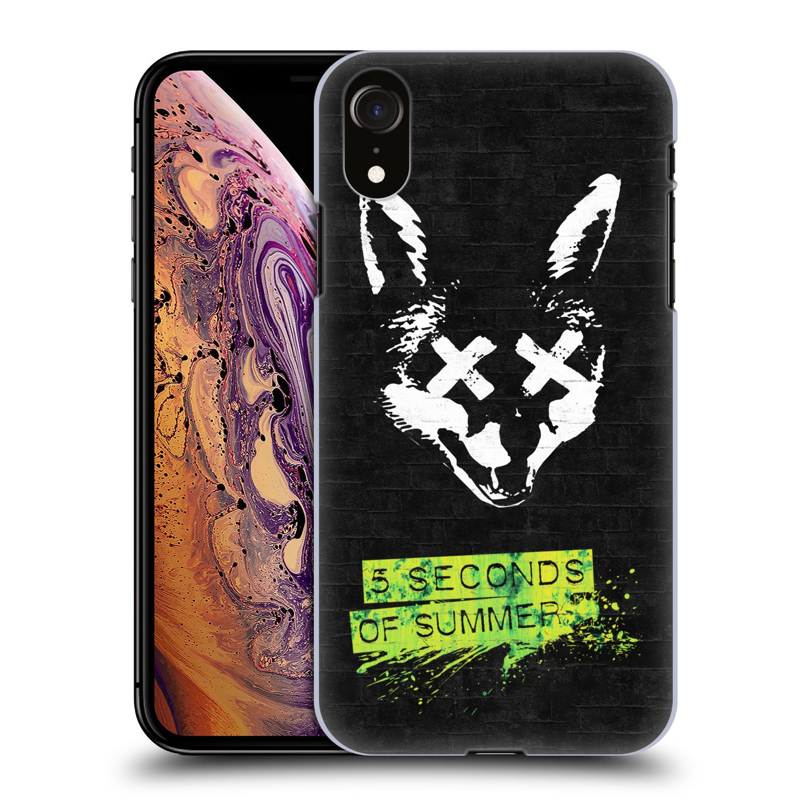 Plastové pouzdro na mobil Apple iPhone XR - Head Case - 5 Seconds of Summer - Fox