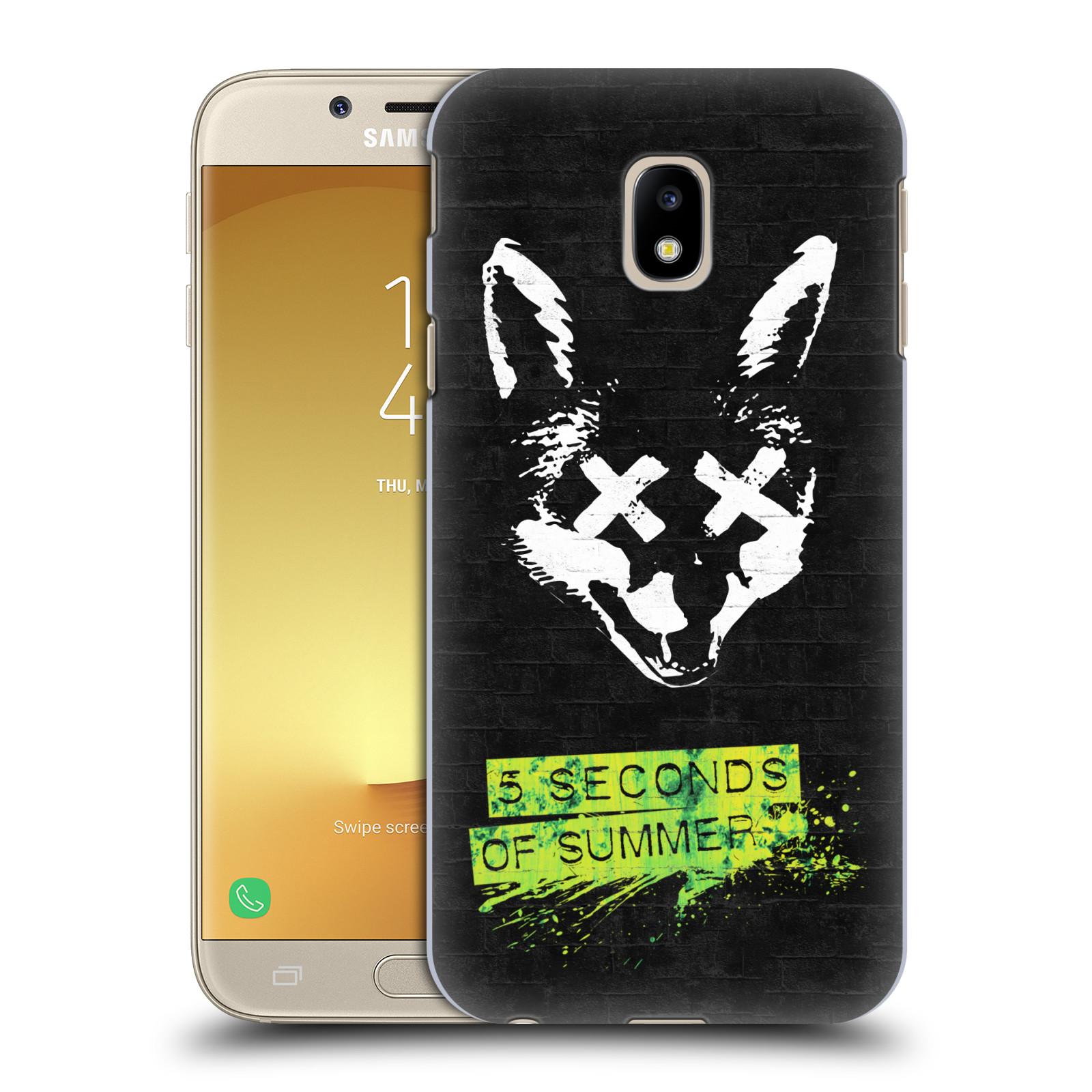 Plastové pouzdro na mobil Samsung Galaxy J3 (2017) - Head Case - 5 Seconds of Summer - Fox