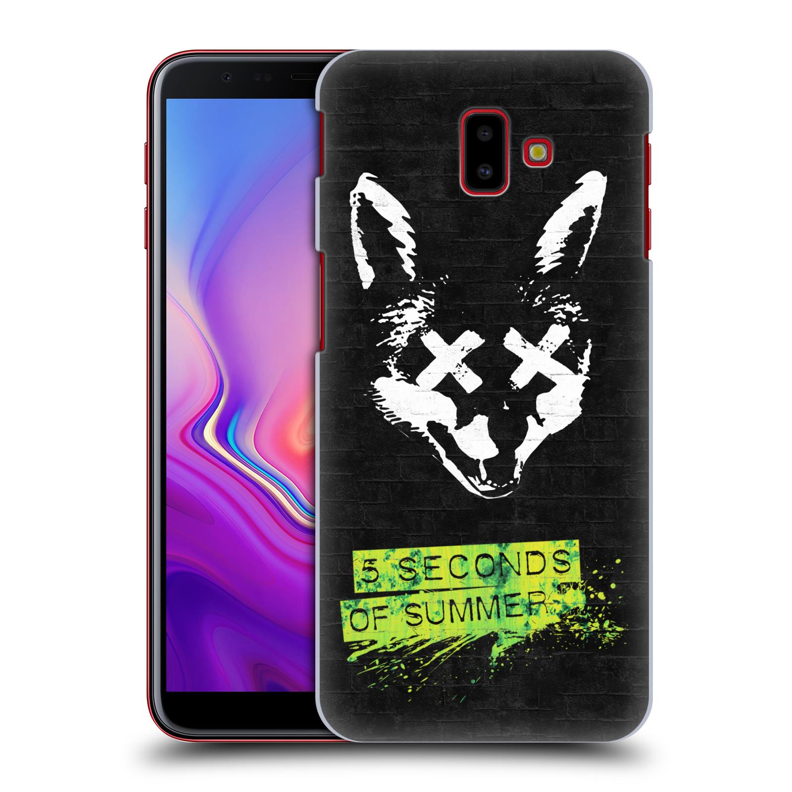 Plastové pouzdro na mobil Samsung Galaxy J6 Plus - Head Case - 5 Seconds of Summer - Fox