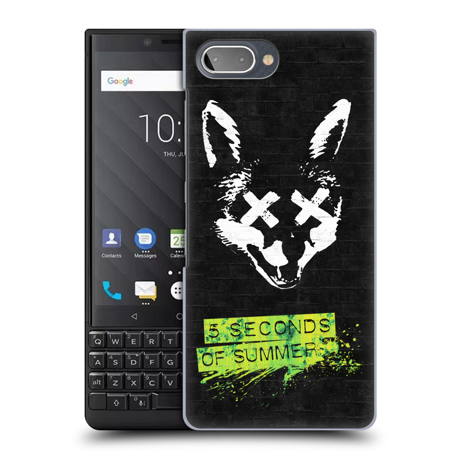 Plastové pouzdro na mobil Blackberry Key 2 - Head Case - 5 Seconds of Summer - Fox