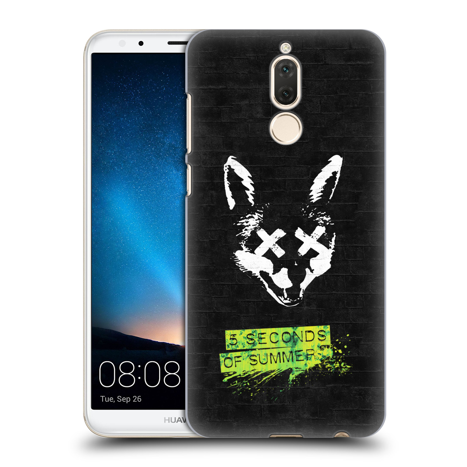 Plastové pouzdro na mobil Huawei Mate 10 Lite - Head Case - 5 Seconds of Summer - Fox