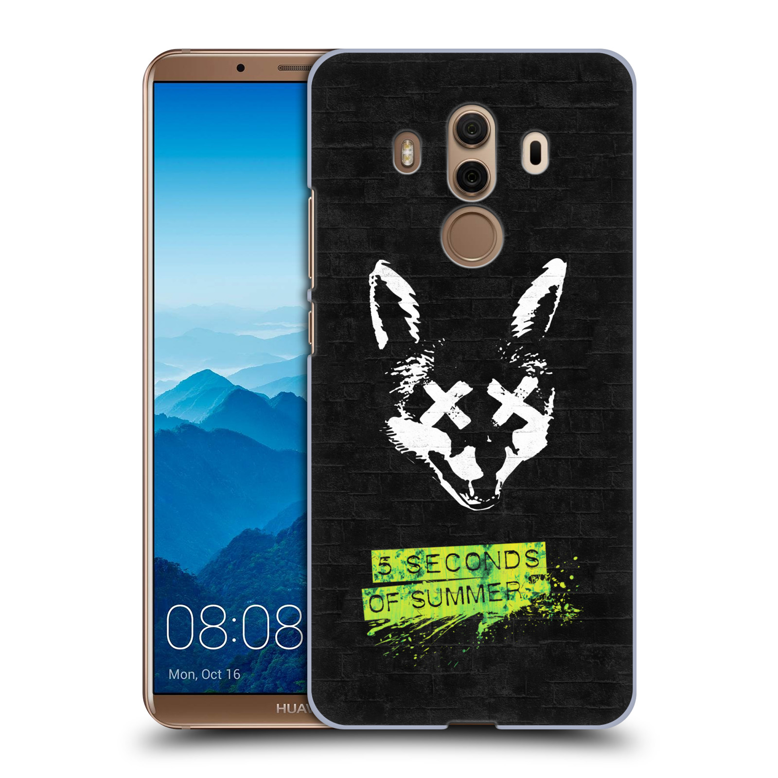 Plastové pouzdro na mobil Huawei Mate 10 Pro - Head Case - 5 Seconds of Summer - Fox