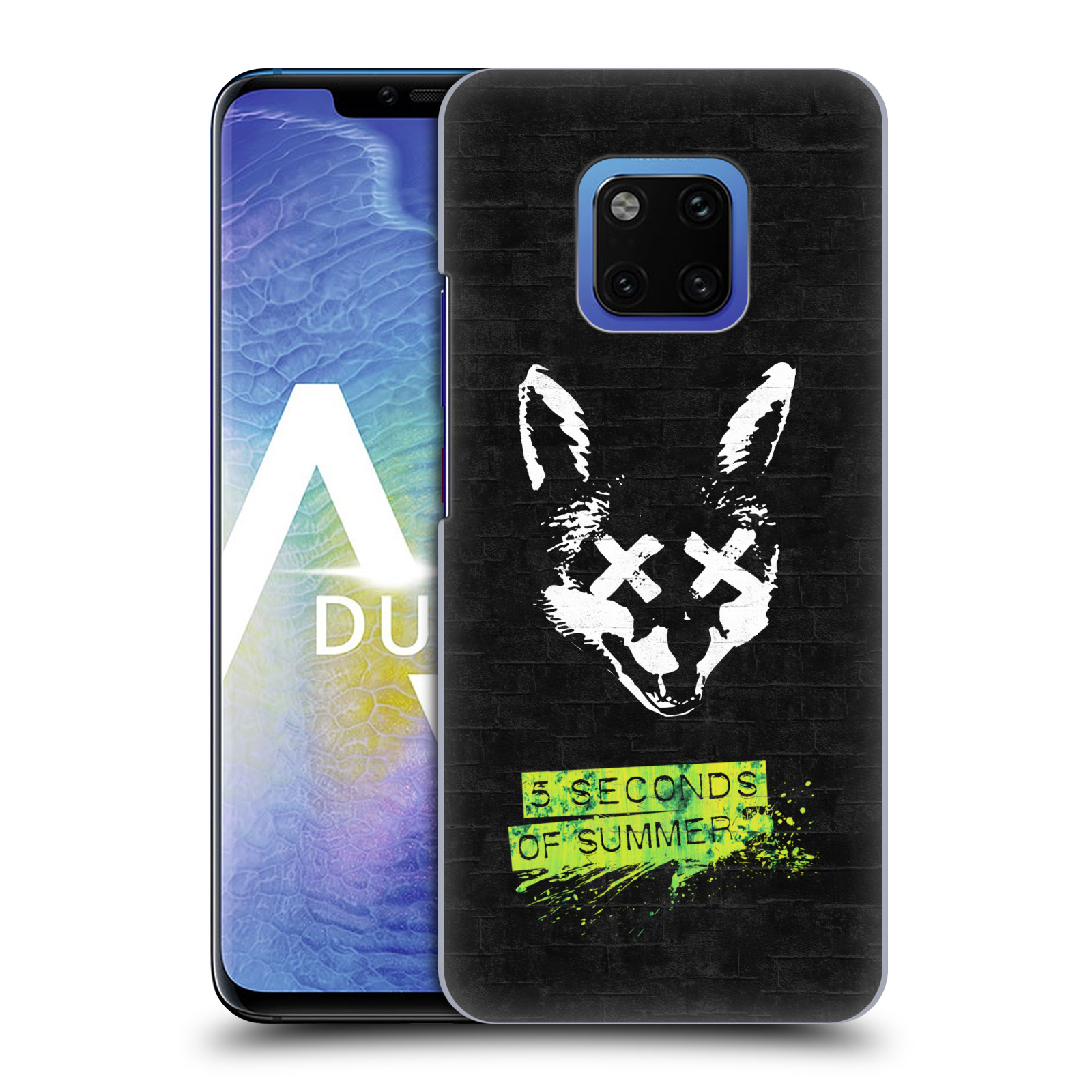 Plastové pouzdro na mobil Huawei Mate 20 Pro - Head Case - 5 Seconds of Summer - Fox