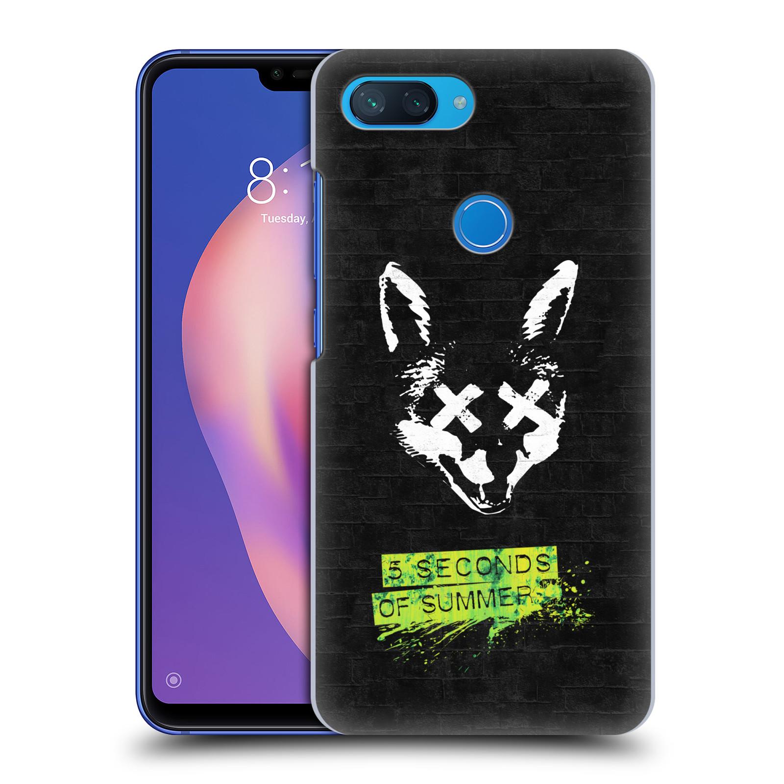 Plastové pouzdro na mobil Xiaomi Mi 8 Lite - Head Case - 5 Seconds of Summer - Fox