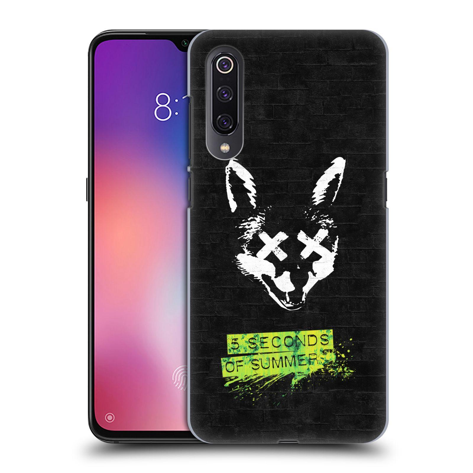 Plastové pouzdro na mobil Xiaomi Mi 9 - Head Case - 5 Seconds of Summer - Fox