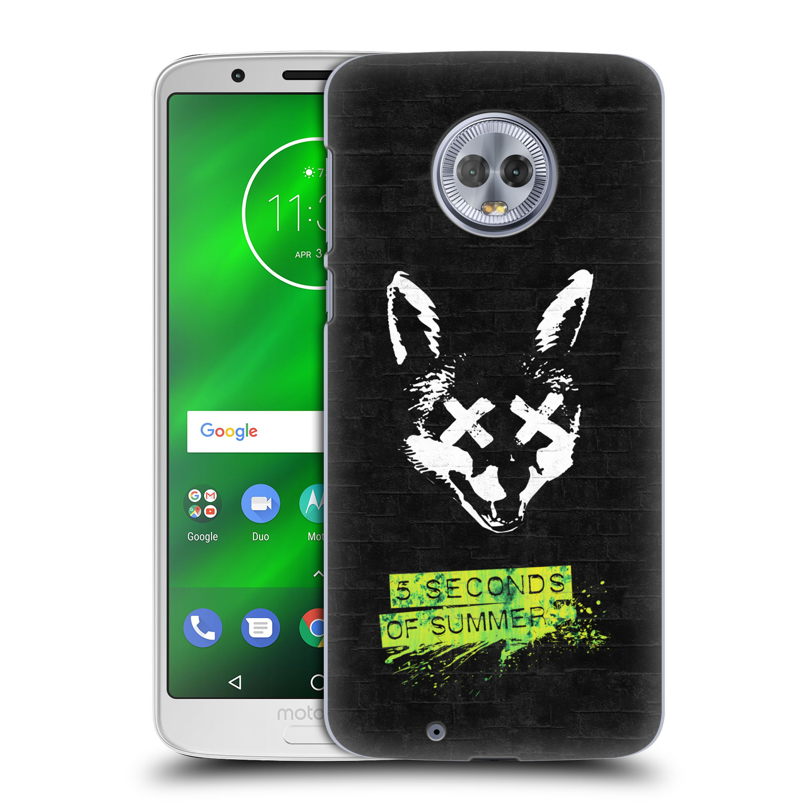 Plastové pouzdro na mobil Motorola Moto G6 - Head Case - 5 Seconds of Summer - Fox