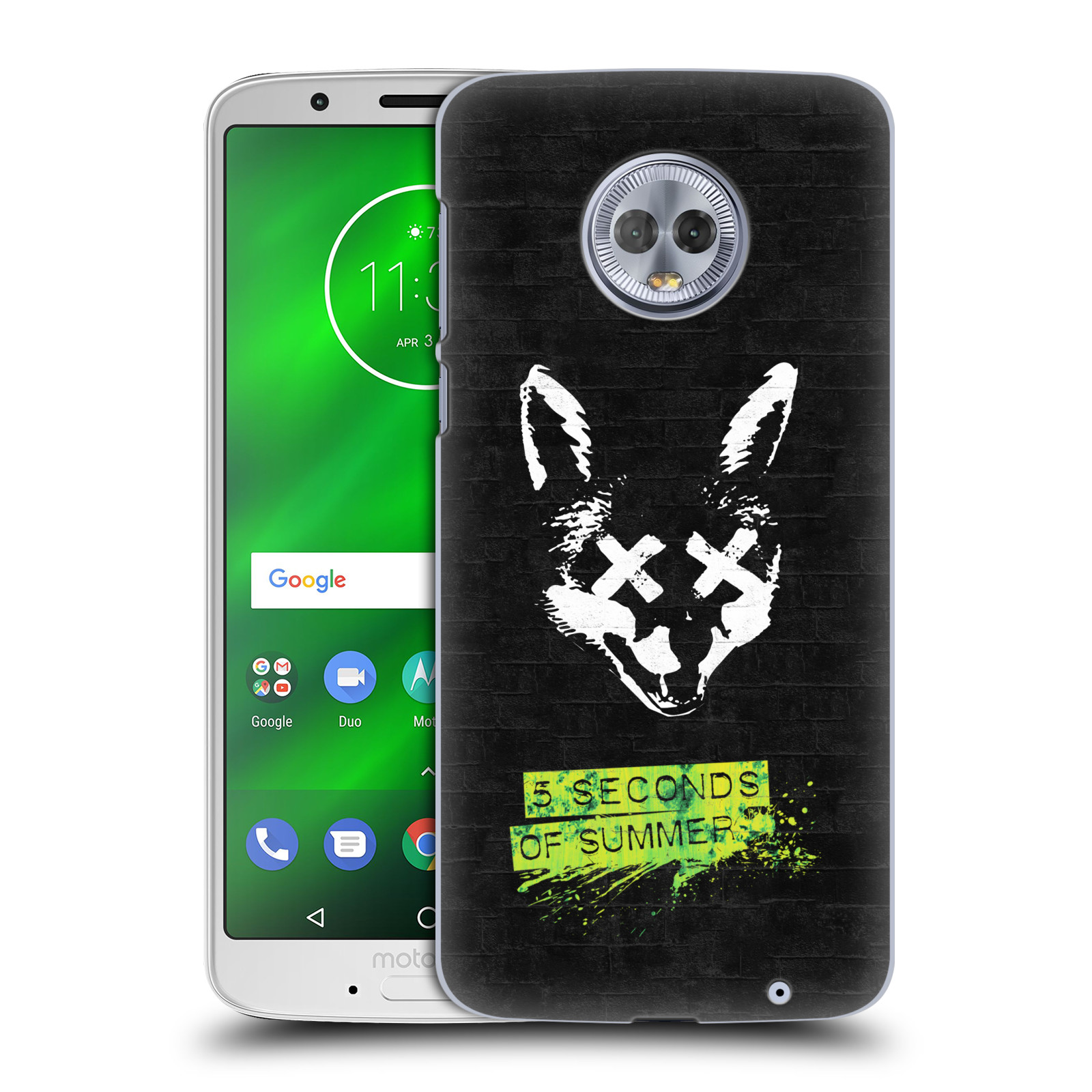 Plastové pouzdro na mobil Motorola Moto G6 Plus - Head Case - 5 Seconds of Summer - Fox