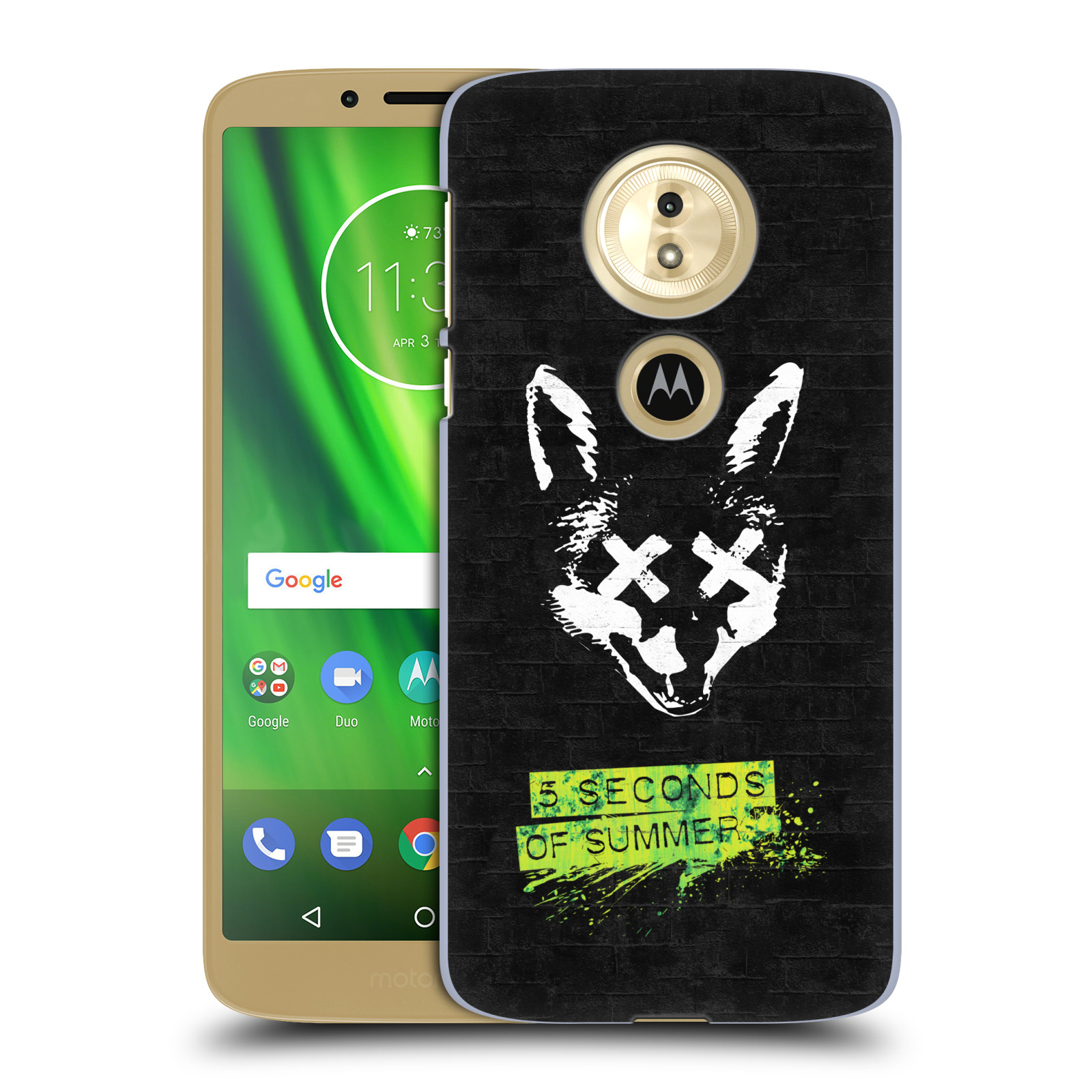 Plastové pouzdro na mobil Motorola Moto G6 Play - Head Case - 5 Seconds of Summer - Fox