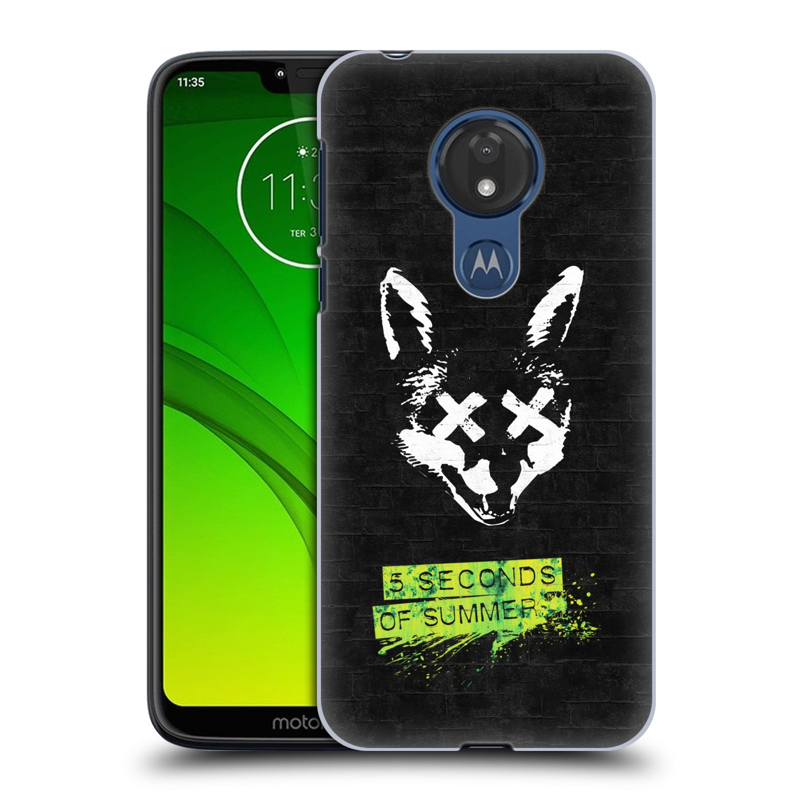 Plastové pouzdro na mobil Motorola Moto G7 Power - Head Case - 5 Seconds of Summer - Fox