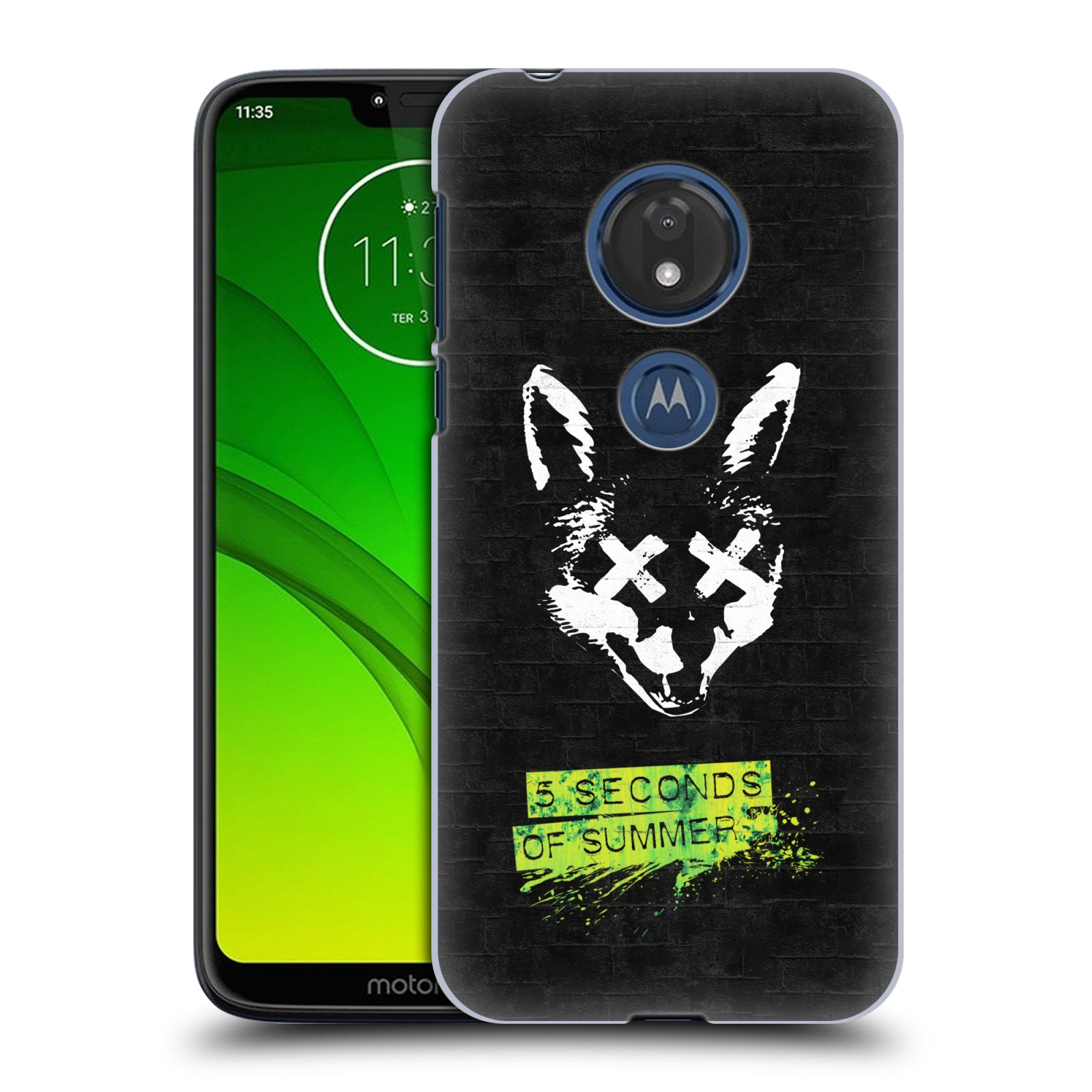 Plastové pouzdro na mobil Motorola Moto G7 Play - Head Case - 5 Seconds of Summer - Fox