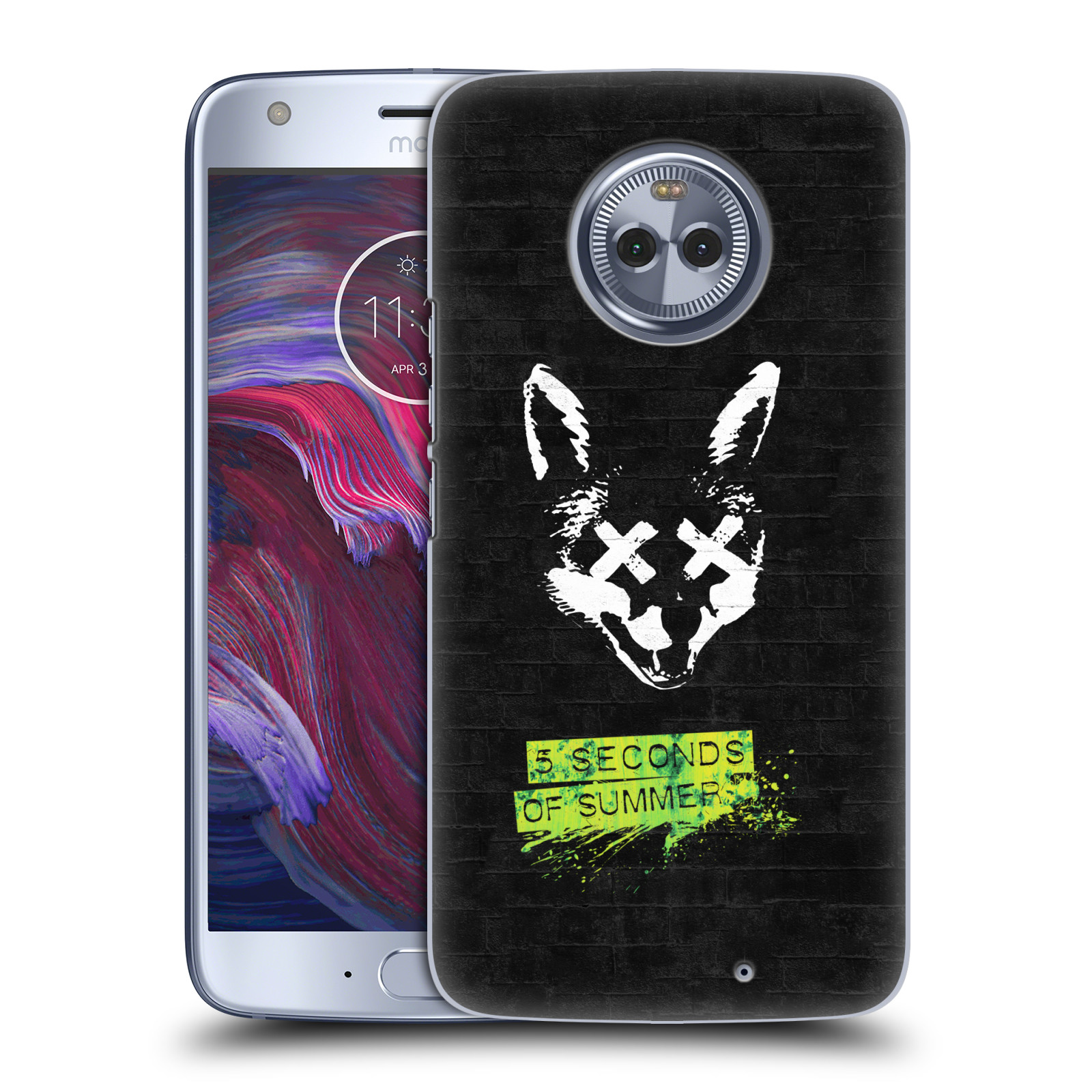 Plastové pouzdro na mobil Lenovo Moto X4 - Head Case - 5 Seconds of Summer - Fox