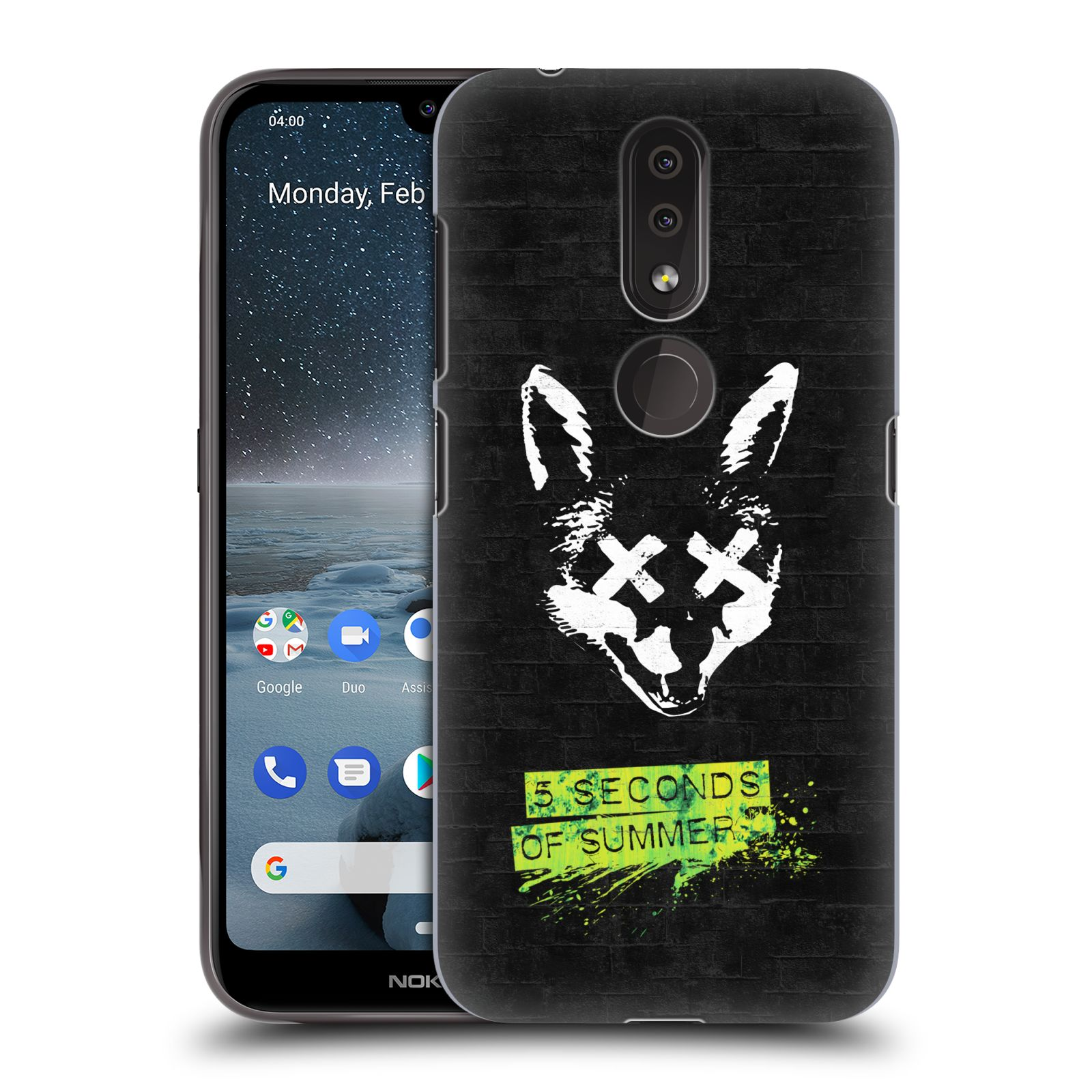 Plastové pouzdro na mobil Nokia 4.2 - Head Case - 5 Seconds of Summer - Fox