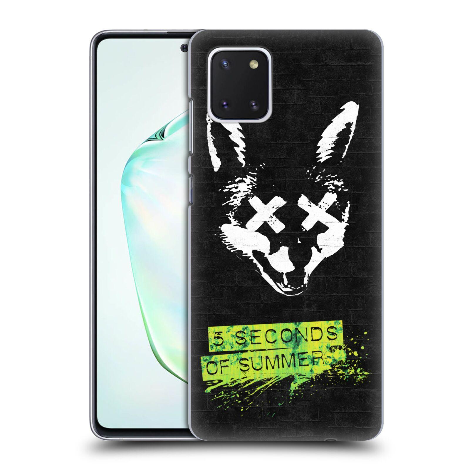 Plastové pouzdro na mobil Samsung Galaxy Note 10 Lite - Head Case - 5 Seconds of Summer - Fox