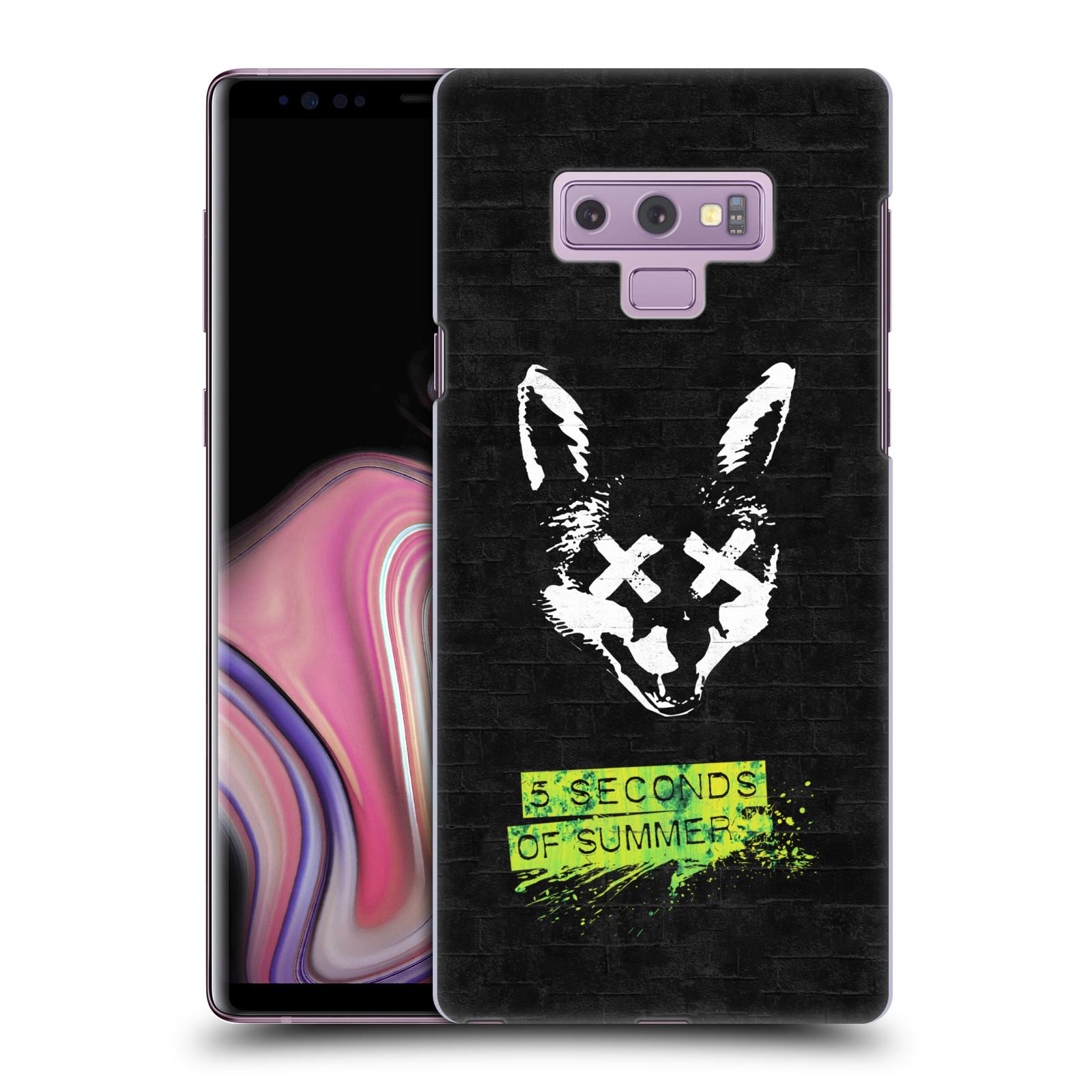 Plastové pouzdro na mobil Samsung Galaxy Note 9 - Head Case - 5 Seconds of Summer - Fox