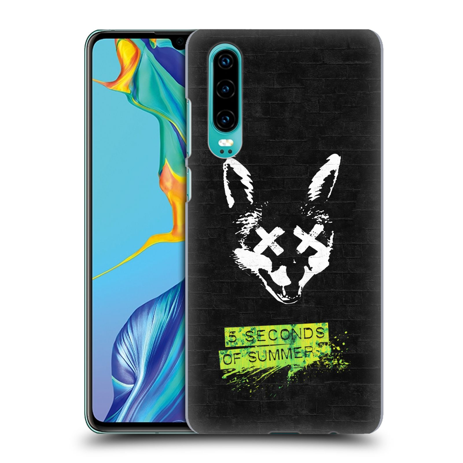 Plastové pouzdro na mobil Huawei P30 - Head Case - 5 Seconds of Summer - Fox