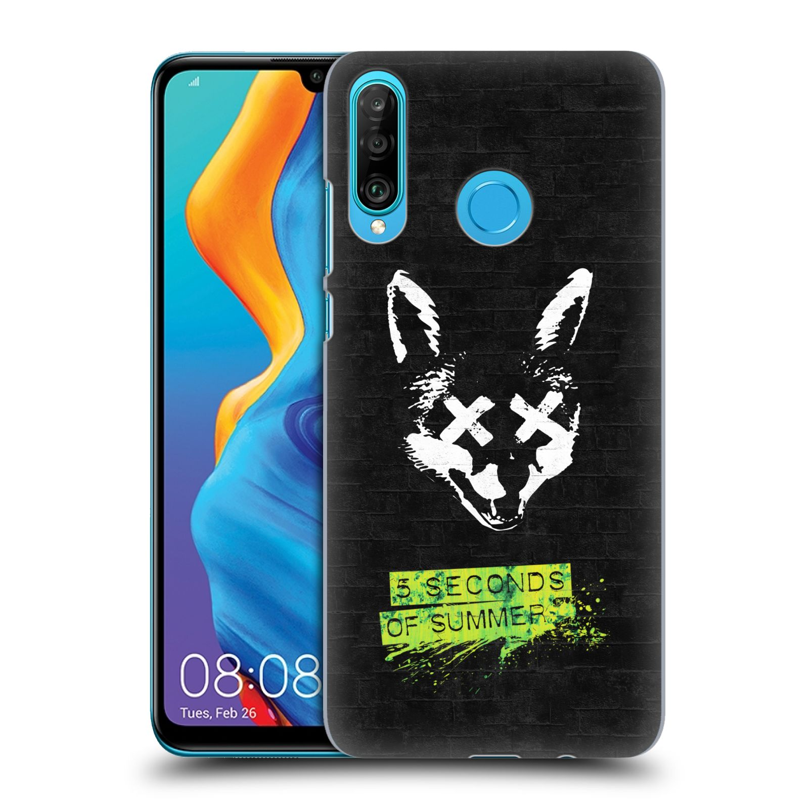 Plastové pouzdro na mobil Huawei P30 Lite - Head Case - 5 Seconds of Summer - Fox