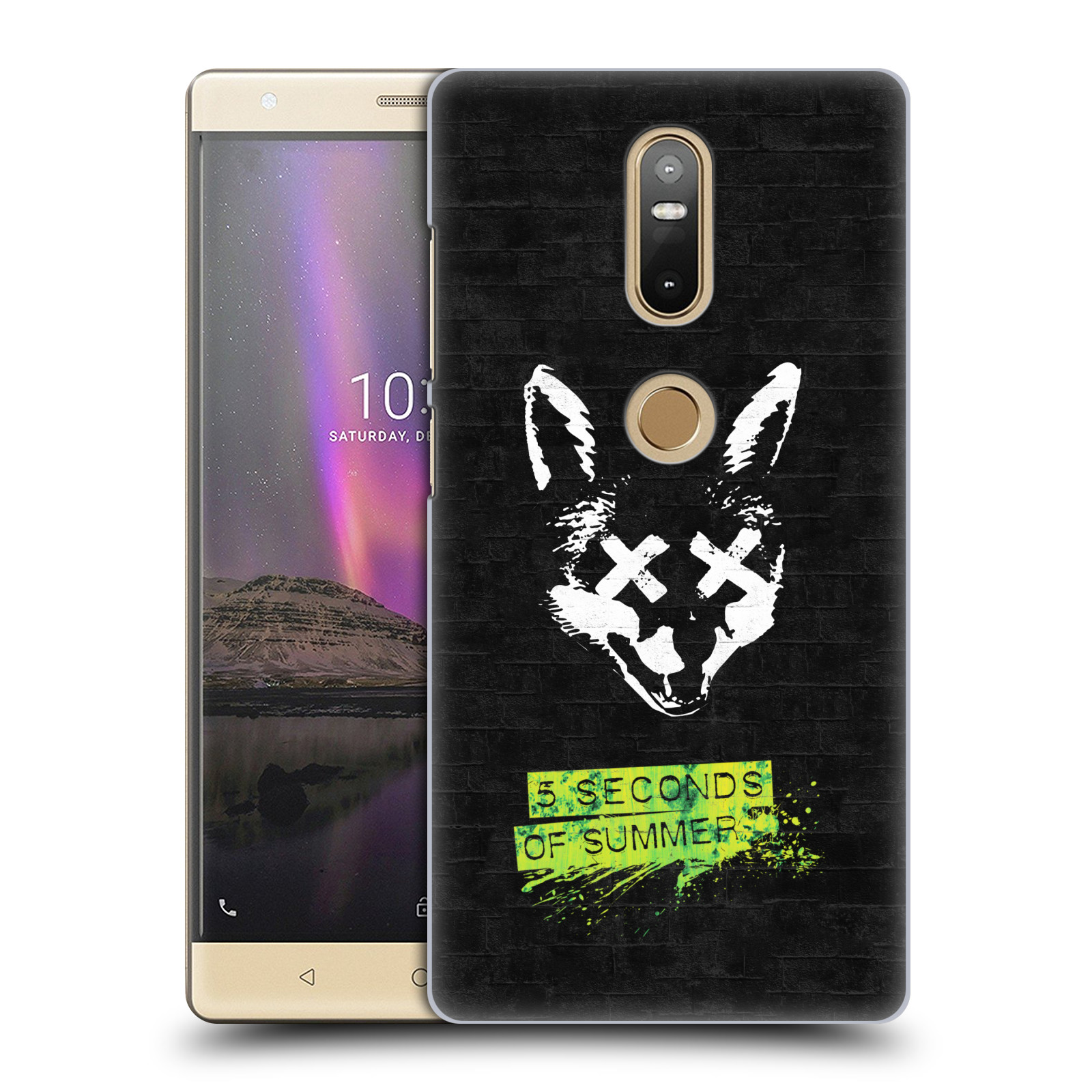 Plastové pouzdro na mobil Lenovo Phab 2 Plus - Head Case - 5 Seconds of Summer - Fox