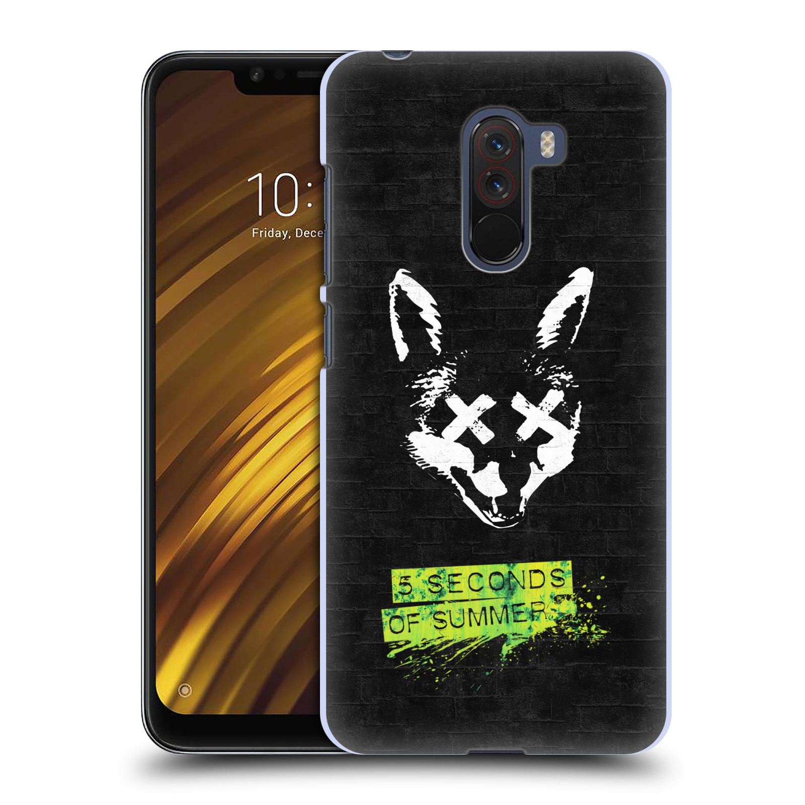 Plastové pouzdro na mobil Xiaomi Pocophone F1 - Head Case - 5 Seconds of Summer - Fox