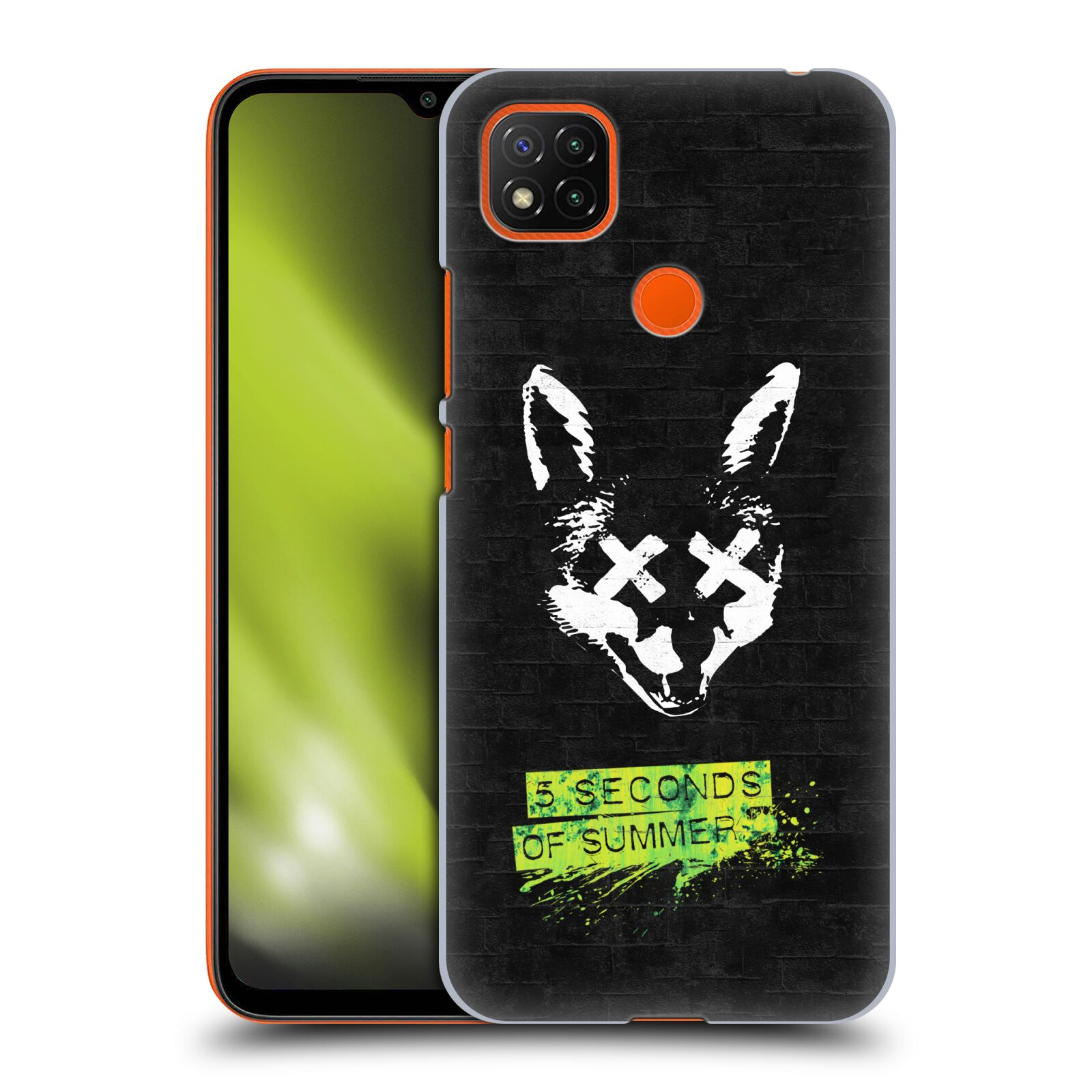 Plastové pouzdro na mobil Xiaomi Redmi 9C - Head Case - 5 Seconds of Summer - Fox
