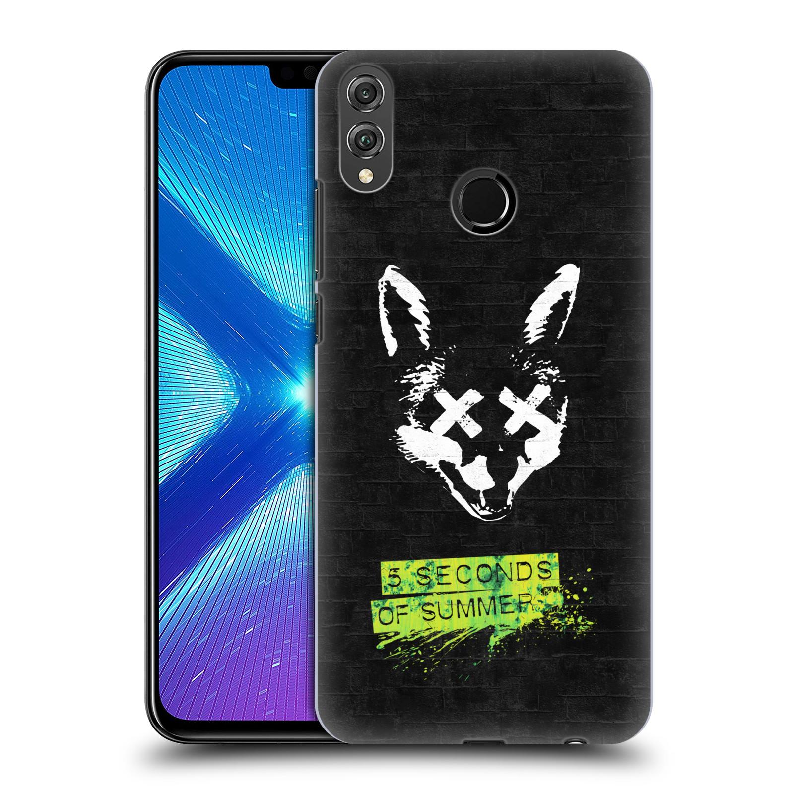 Plastové pouzdro na mobil Honor 8X - Head Case - 5 Seconds of Summer - Fox