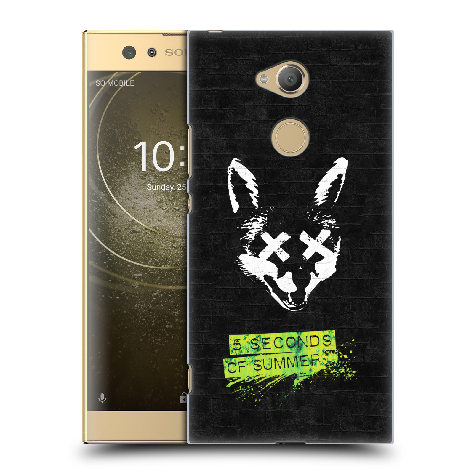 Plastové pouzdro na mobil Sony Xperia XA2 Ultra - Head Case - 5 Seconds of Summer - Fox