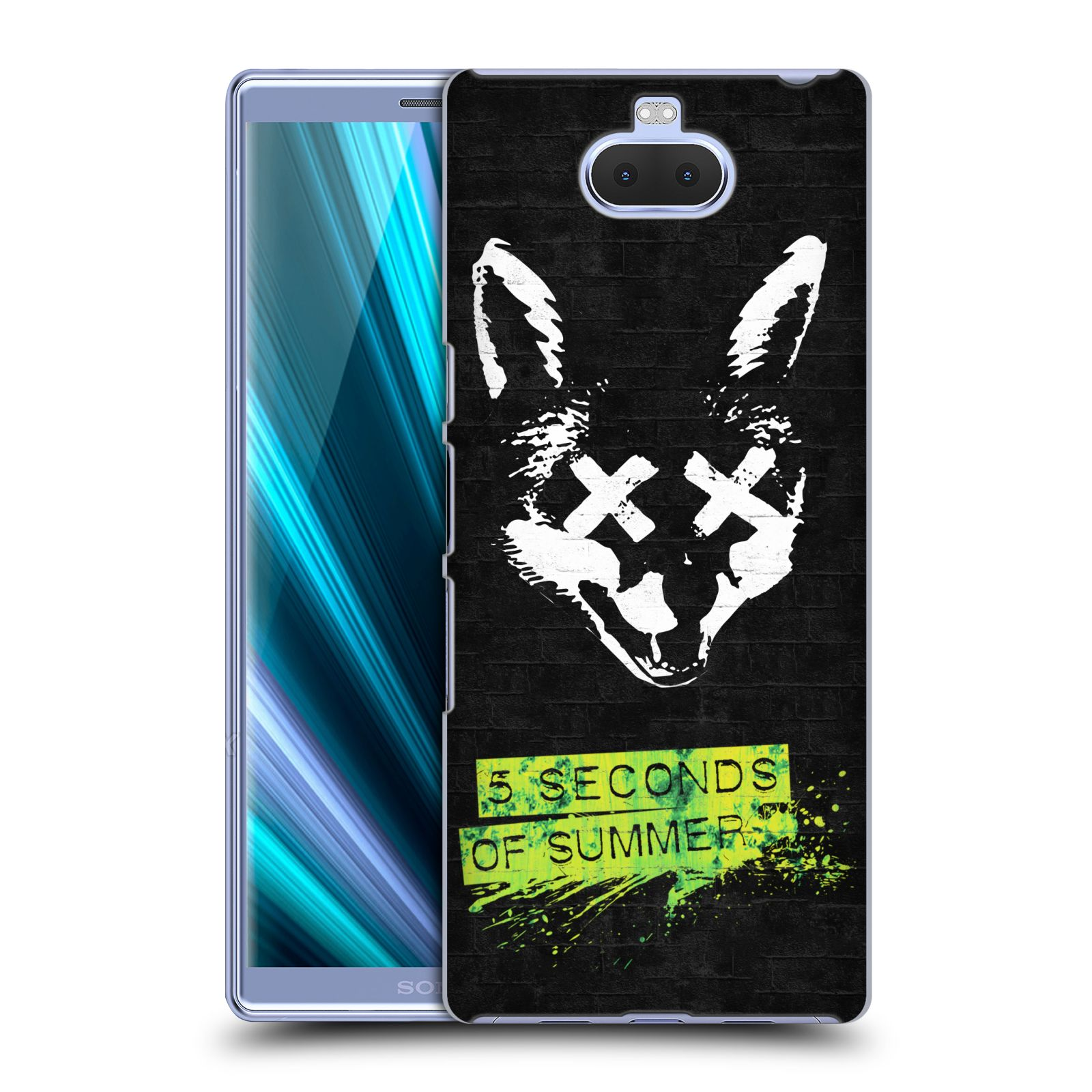 Plastové pouzdro na mobil Sony Xperia 10 Plus - Head Case - 5 Seconds of Summer - Fox