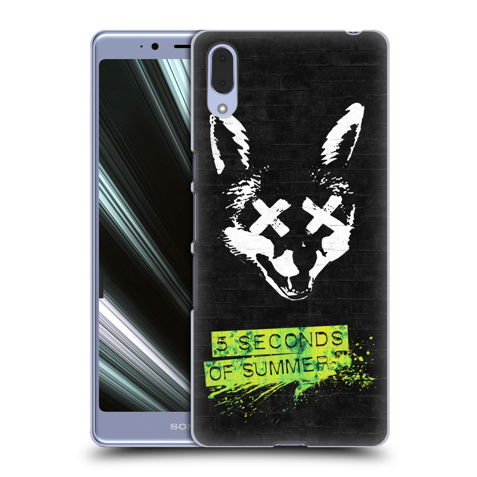 Plastové pouzdro na mobil Sony Xperia L3 - Head Case - 5 Seconds of Summer - Fox