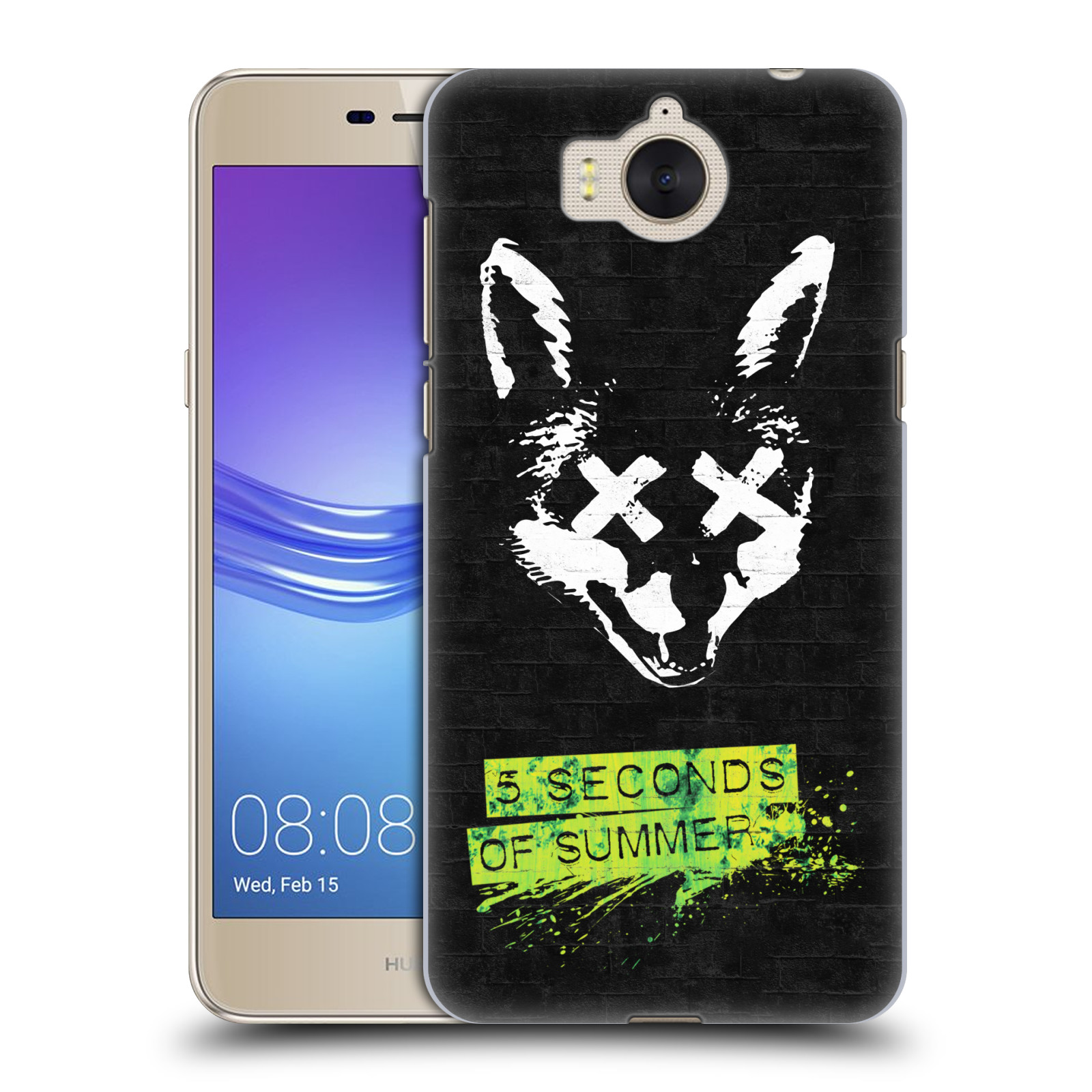 Plastové pouzdro na mobil Huawei Y6 2017 - Head Case - 5 Seconds of Summer - Fox