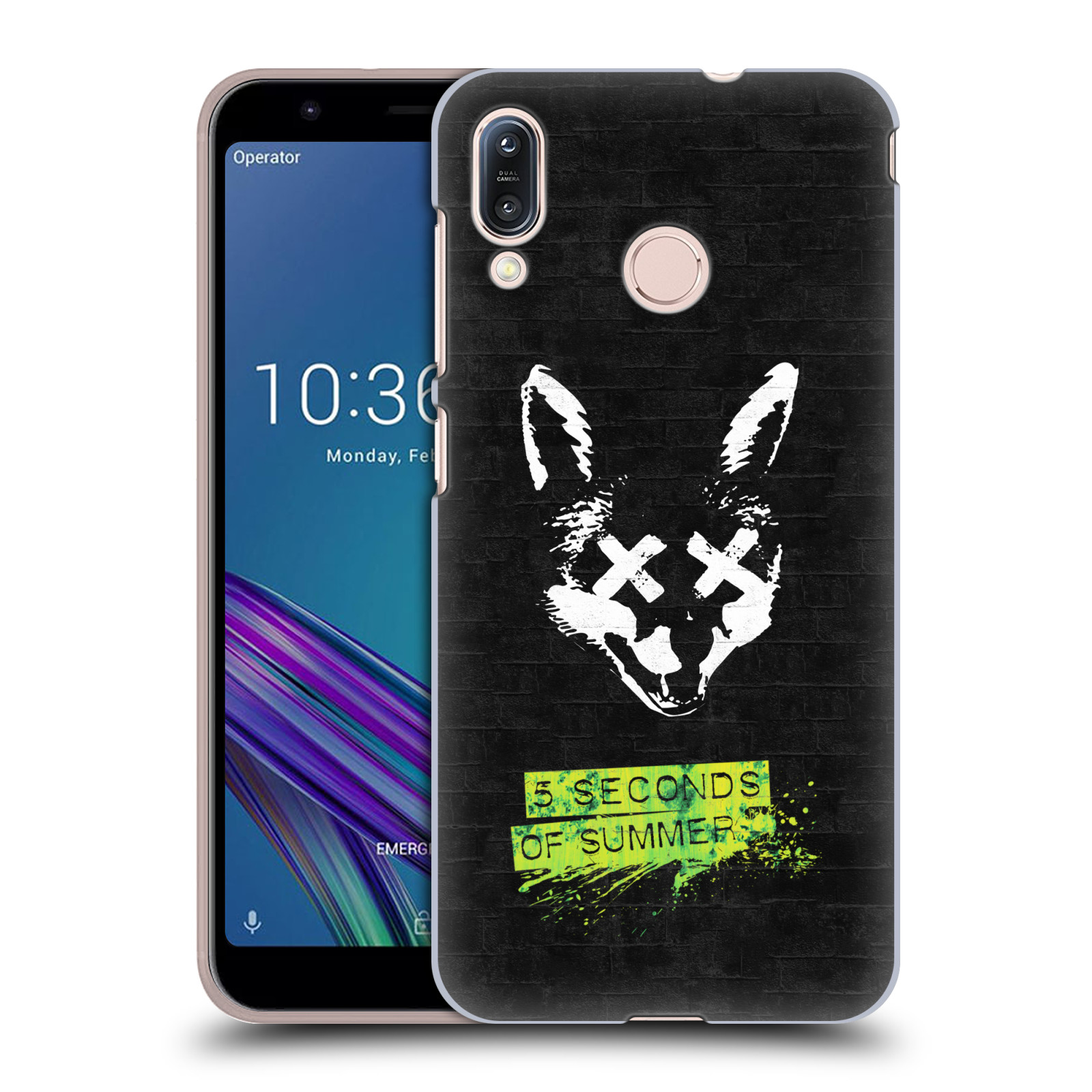 Plastové pouzdro na mobil Asus Zenfone Max M1 ZB555KL - Head Case - 5 Seconds of Summer - Fox