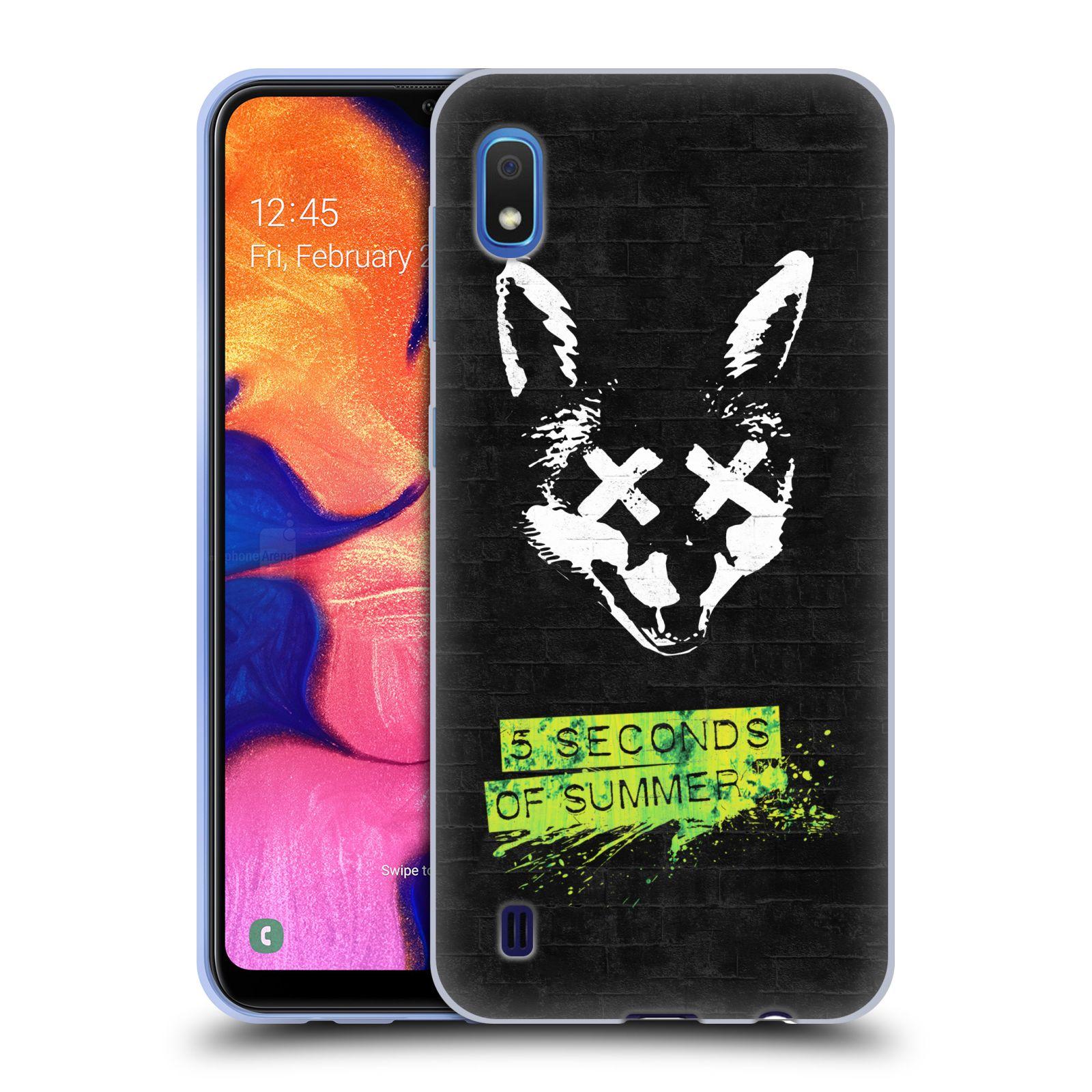 Silikonové pouzdro na mobil Samsung Galaxy A10 - Head Case - 5 Seconds of Summer - Fox
