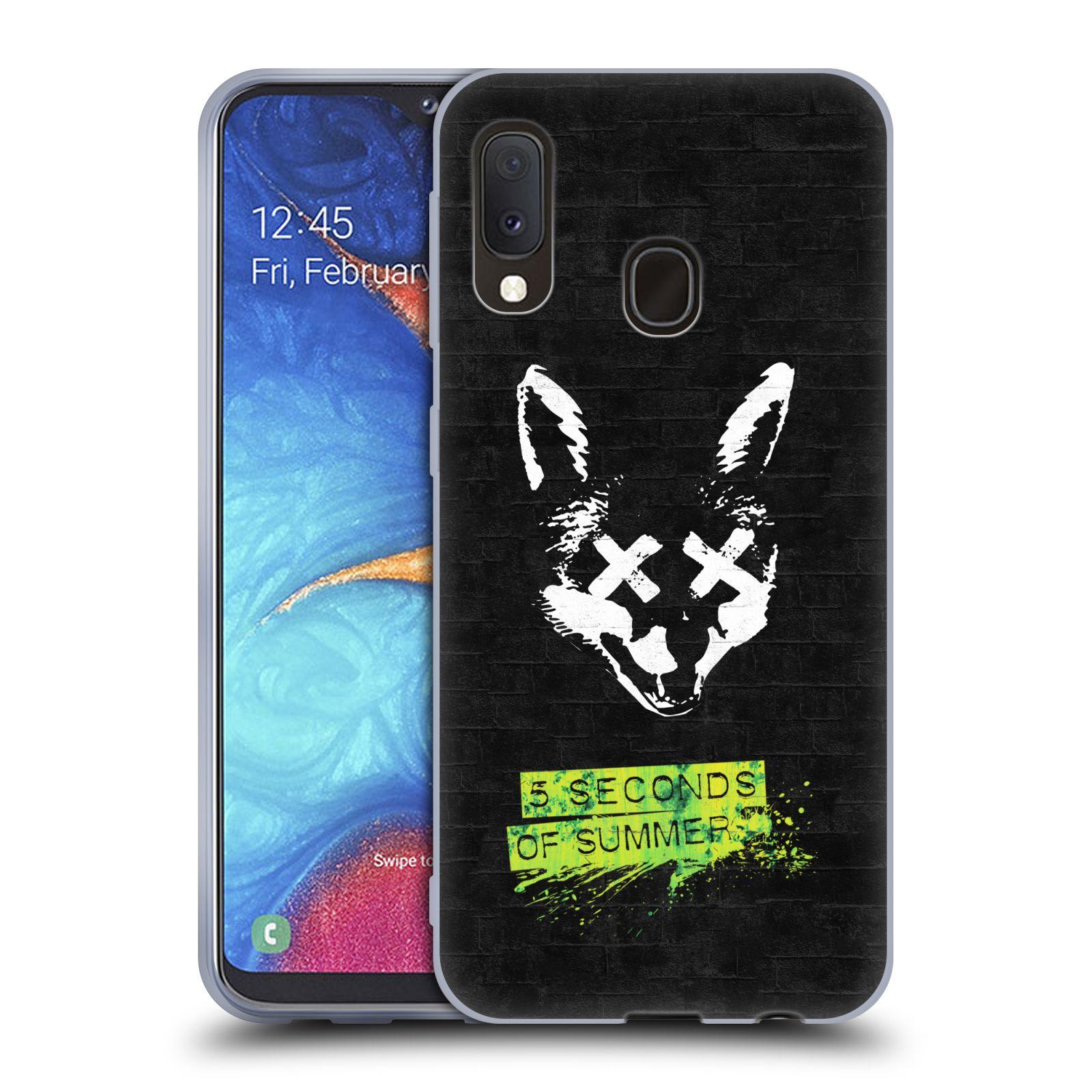Silikonové pouzdro na mobil Samsung Galaxy A20e - Head Case - 5 Seconds of Summer - Fox