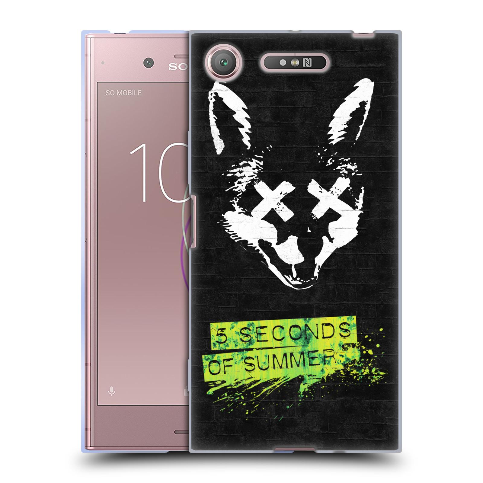 Silikonové pouzdro na mobil Sony Xperia XZ1 - Head Case - 5 Seconds of Summer - Fox