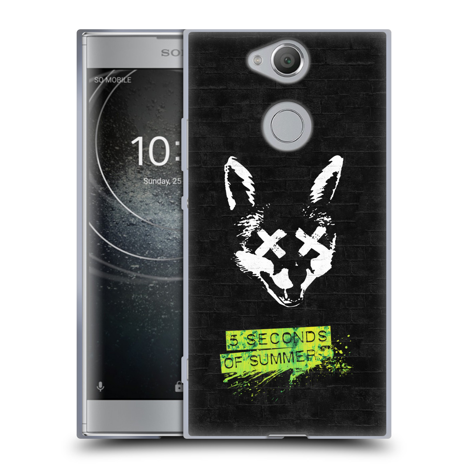 Silikonové pouzdro na mobil Sony Xperia XA2 - Head Case - 5 Seconds of Summer - Fox