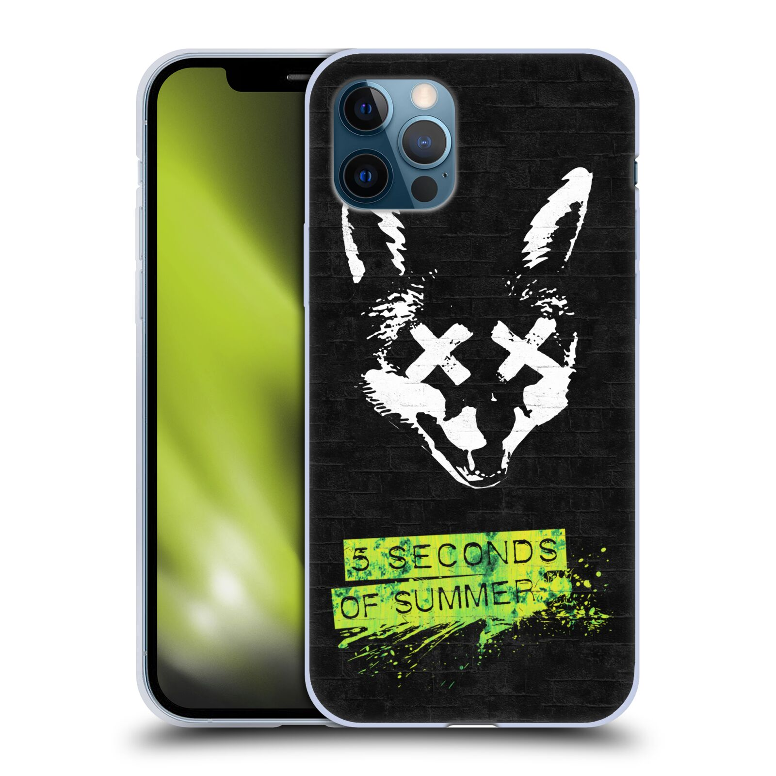 Silikonové pouzdro na mobil Apple iPhone 12 / 12 Pro - Head Case - 5 Seconds of Summer - Fox