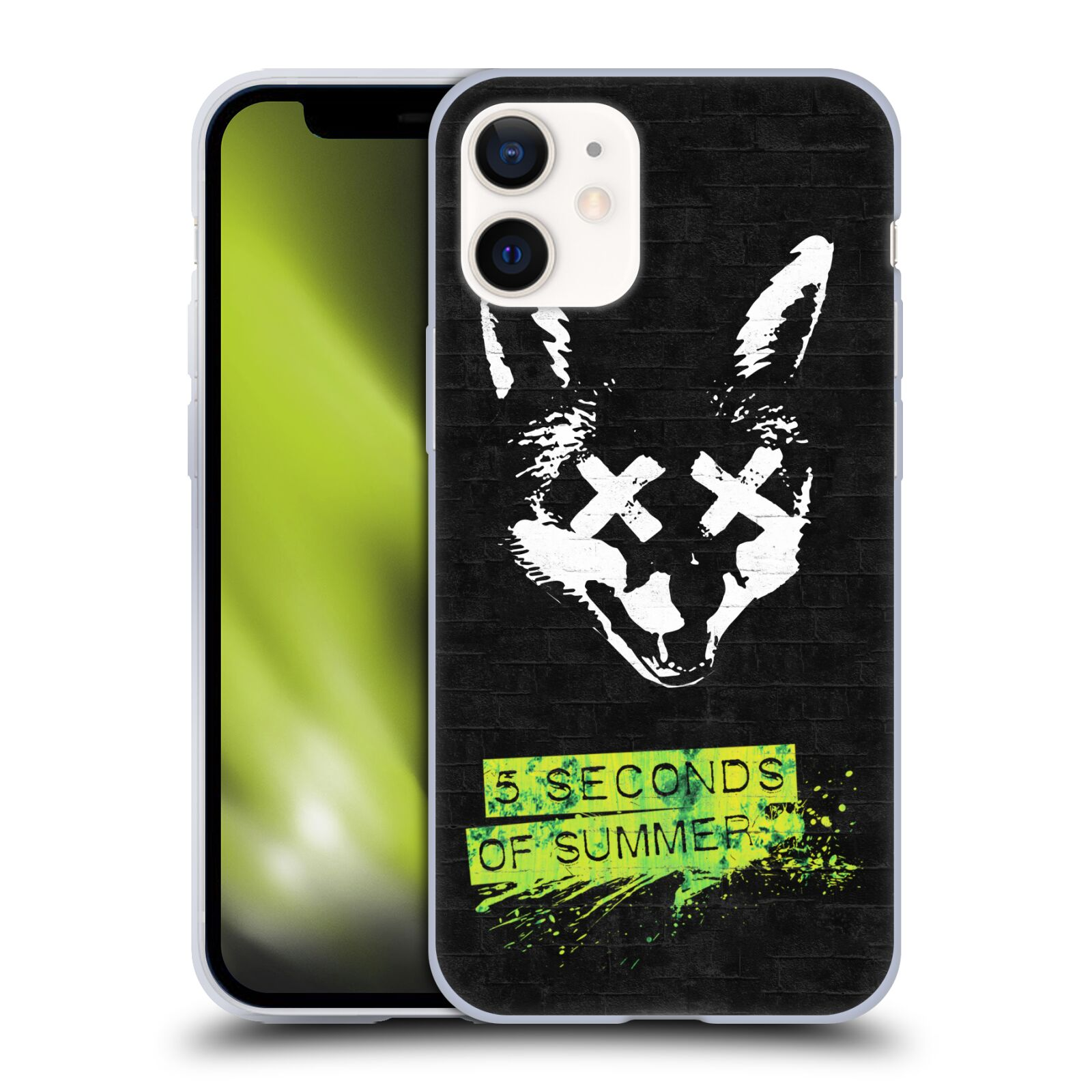 Silikonové pouzdro na mobil Apple iPhone 12 Mini - Head Case - 5 Seconds of Summer - Fox