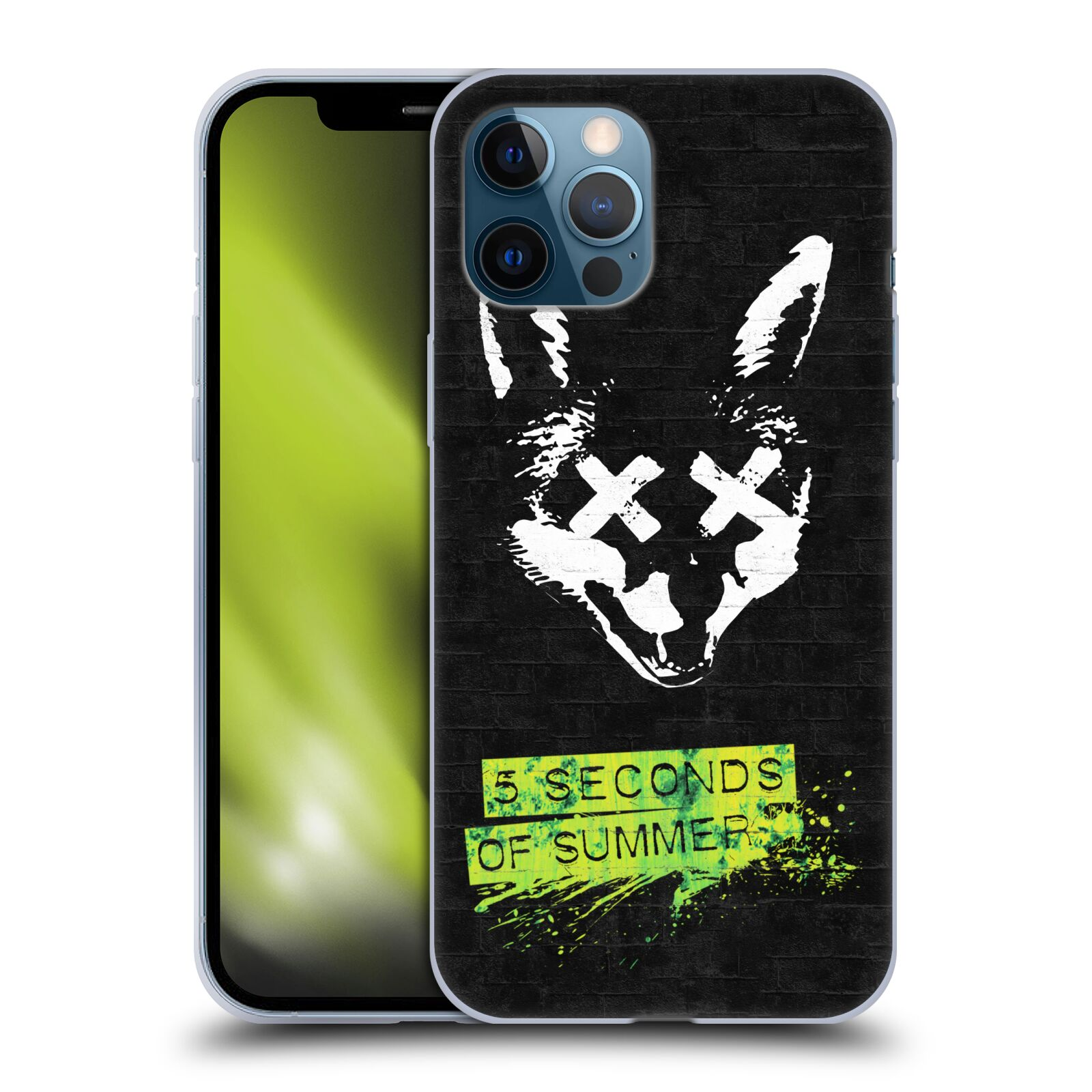 Silikonové pouzdro na mobil Apple iPhone 12 Pro Max - Head Case - 5 Seconds of Summer - Fox