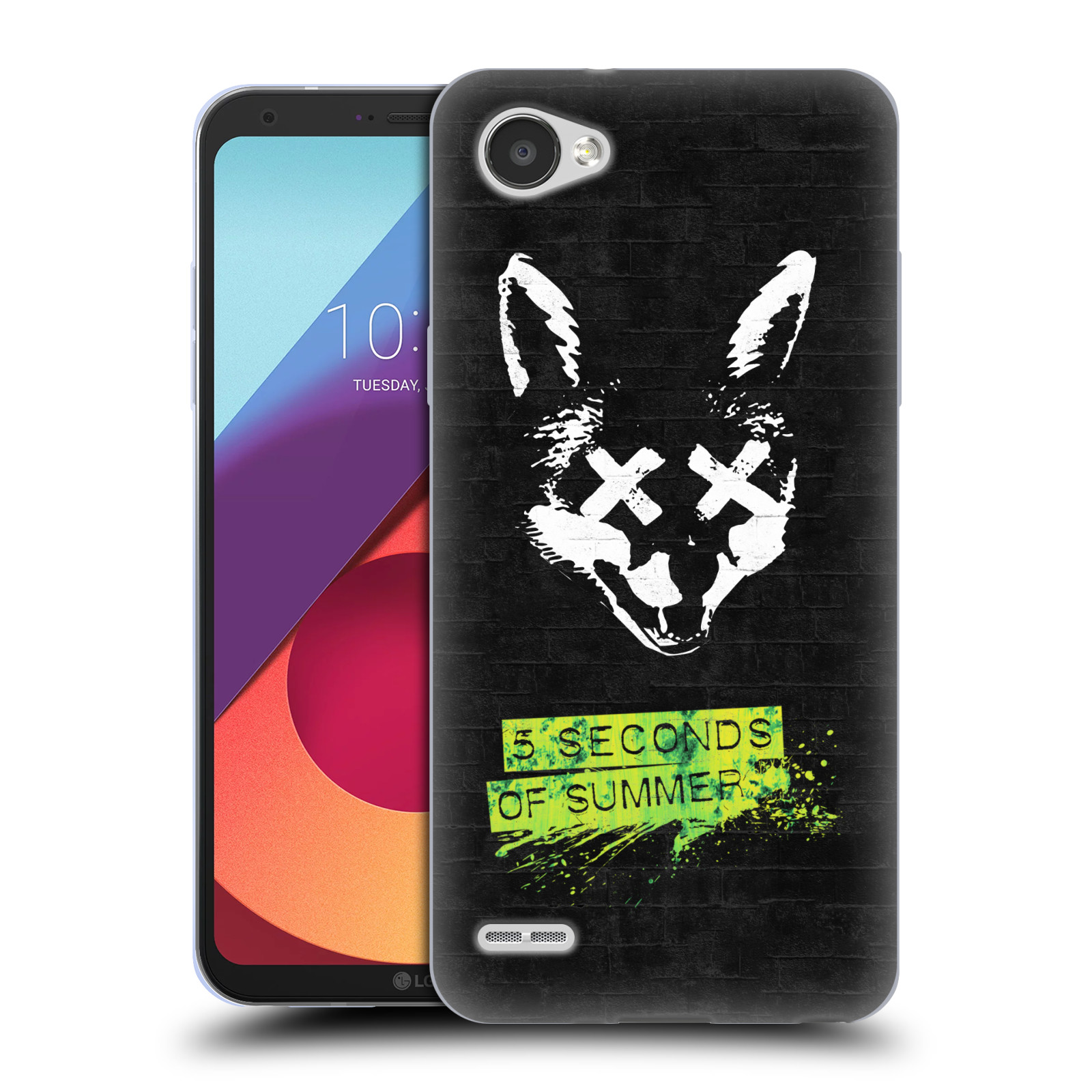 Silikonové pouzdro na mobil LG Q6 - Head Case - 5 Seconds of Summer - Fox