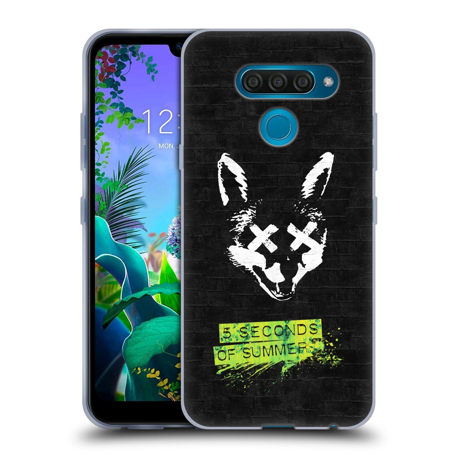 Silikonové pouzdro na mobil LG Q60 - Head Case - 5 Seconds of Summer - Fox